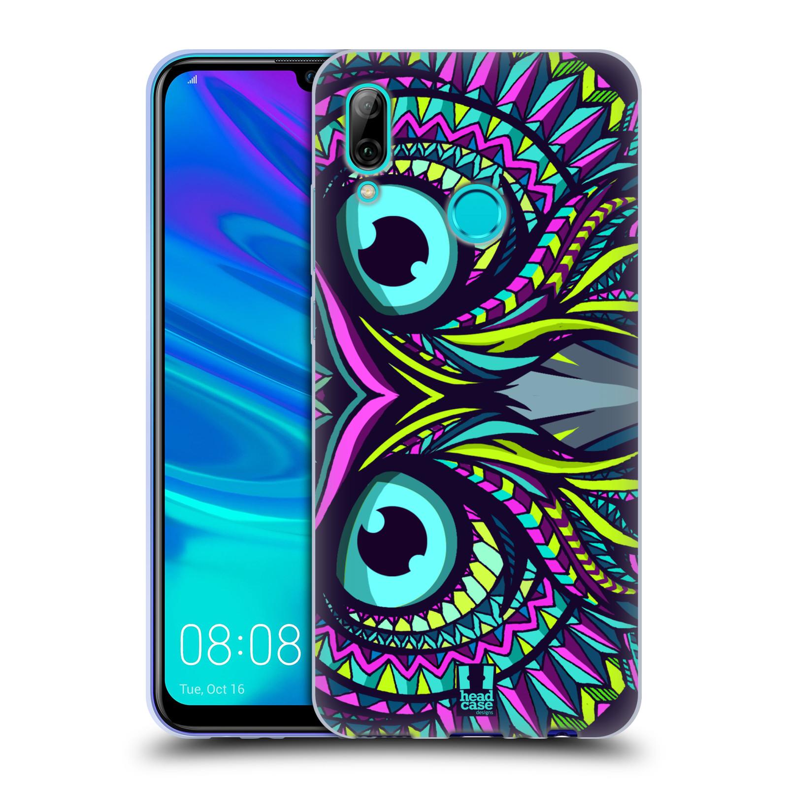 Silikonové pouzdro na mobil Huawei P Smart (2019) - Head Case - AZTEC SOVA