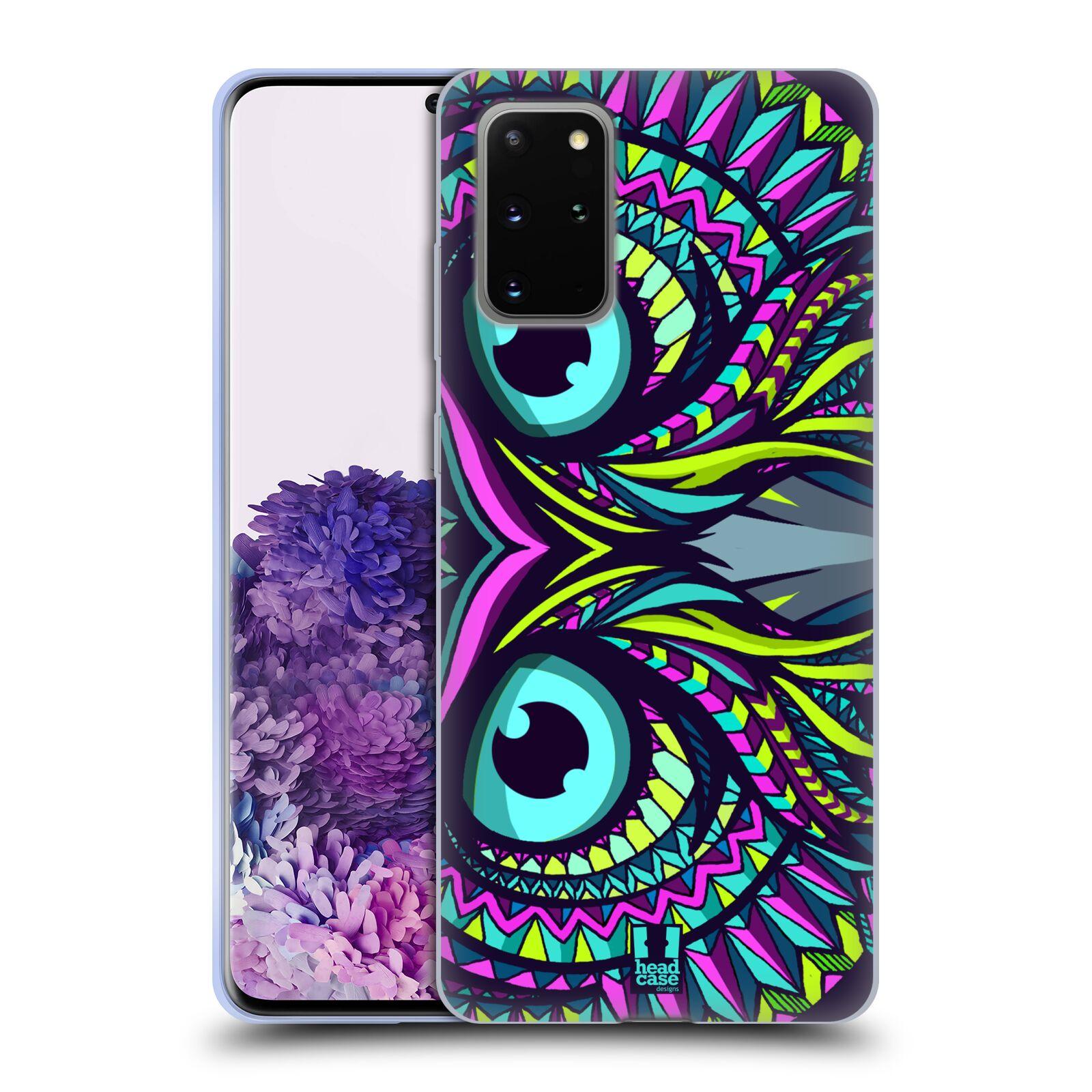 Silikonové pouzdro na mobil Samsung Galaxy S20 Plus - Head Case - AZTEC SOVA
