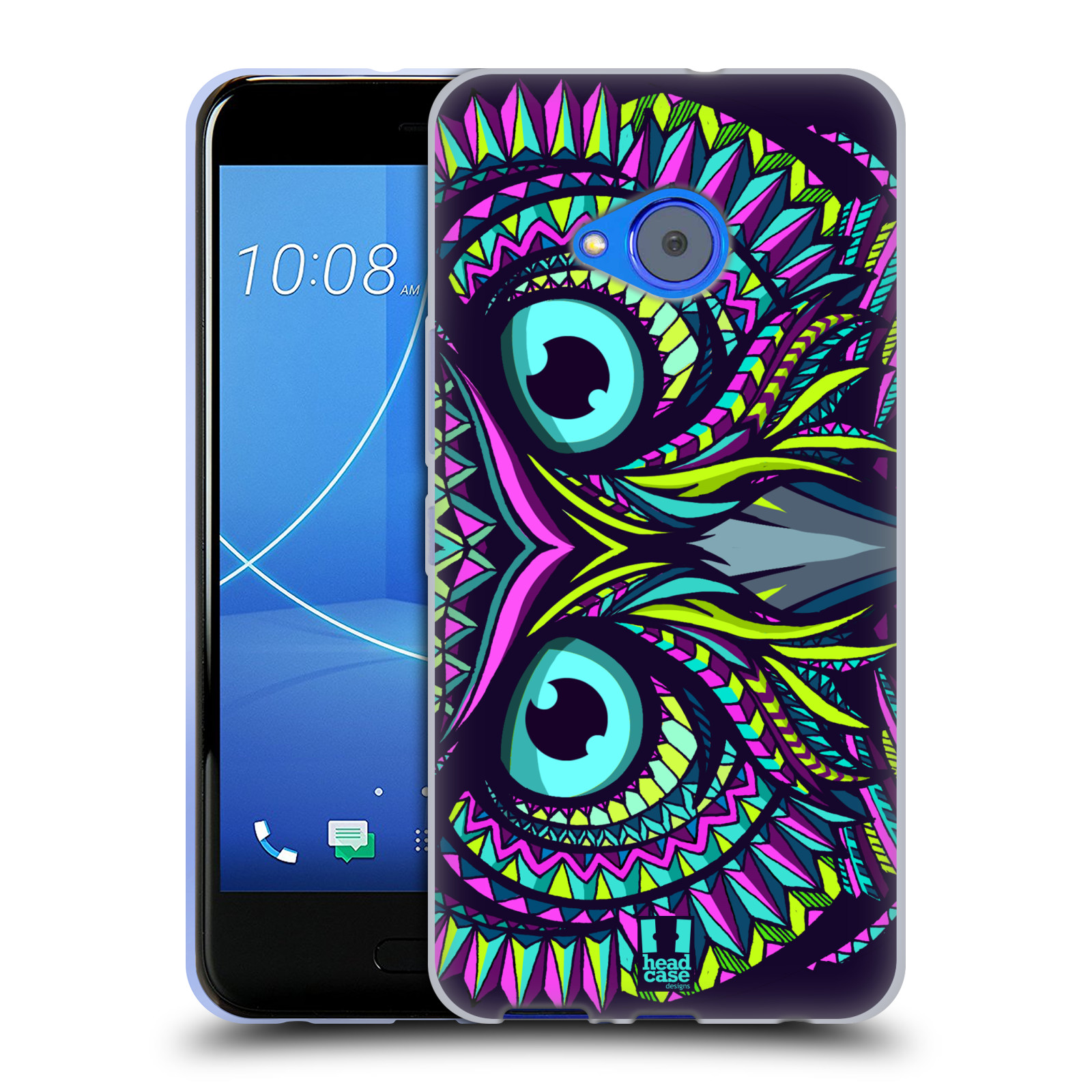 Silikonové pouzdro na mobil HTC U11 Life - Head Case - AZTEC SOVA