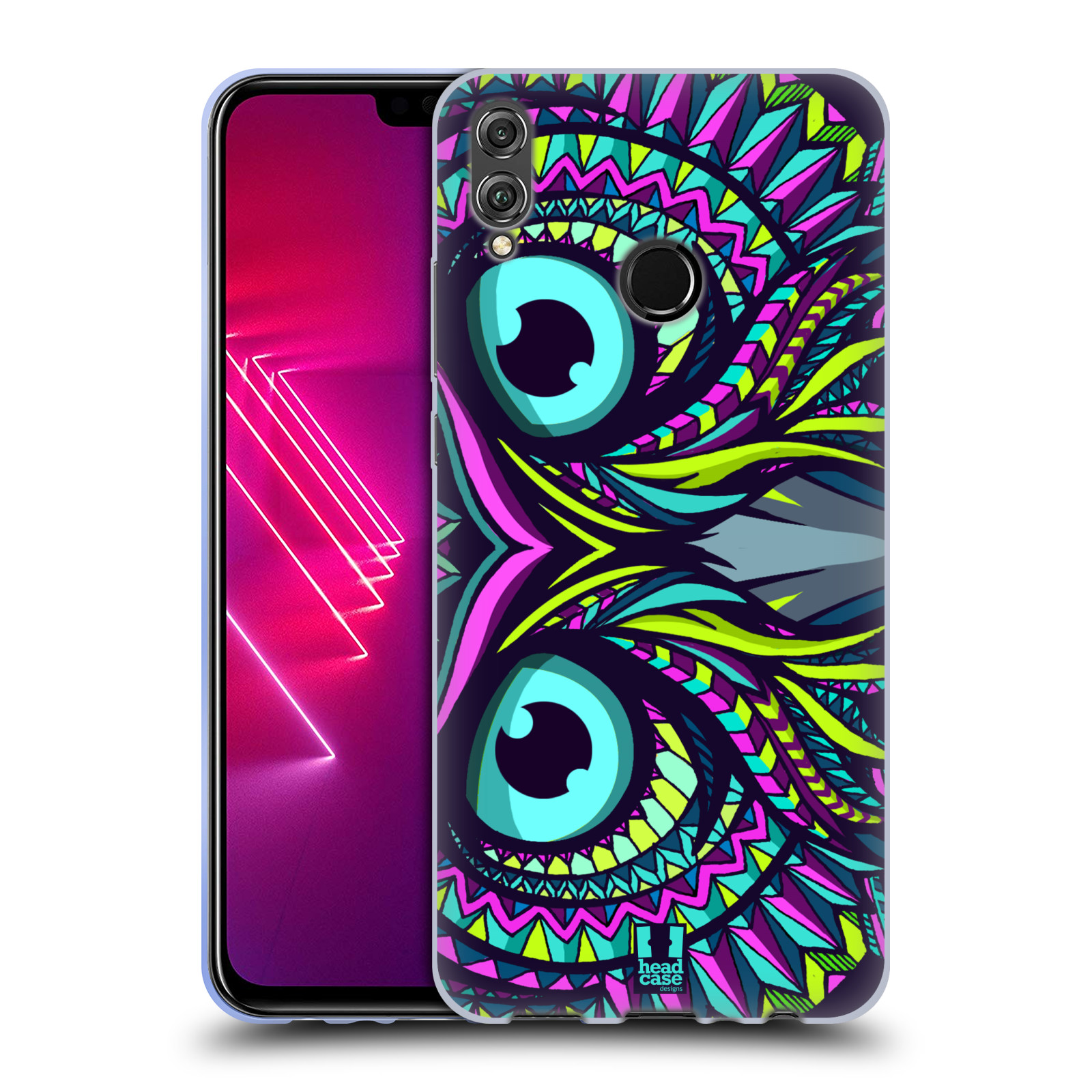 Silikonové pouzdro na mobil Honor View 10 Lite - Head Case - AZTEC SOVA