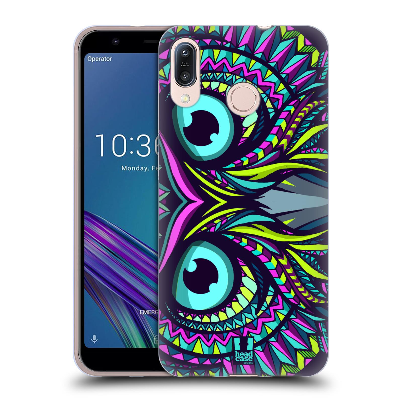 Silikonové pouzdro na mobil Asus Zenfone Max M1 ZB555KL - Head Case - AZTEC SOVA