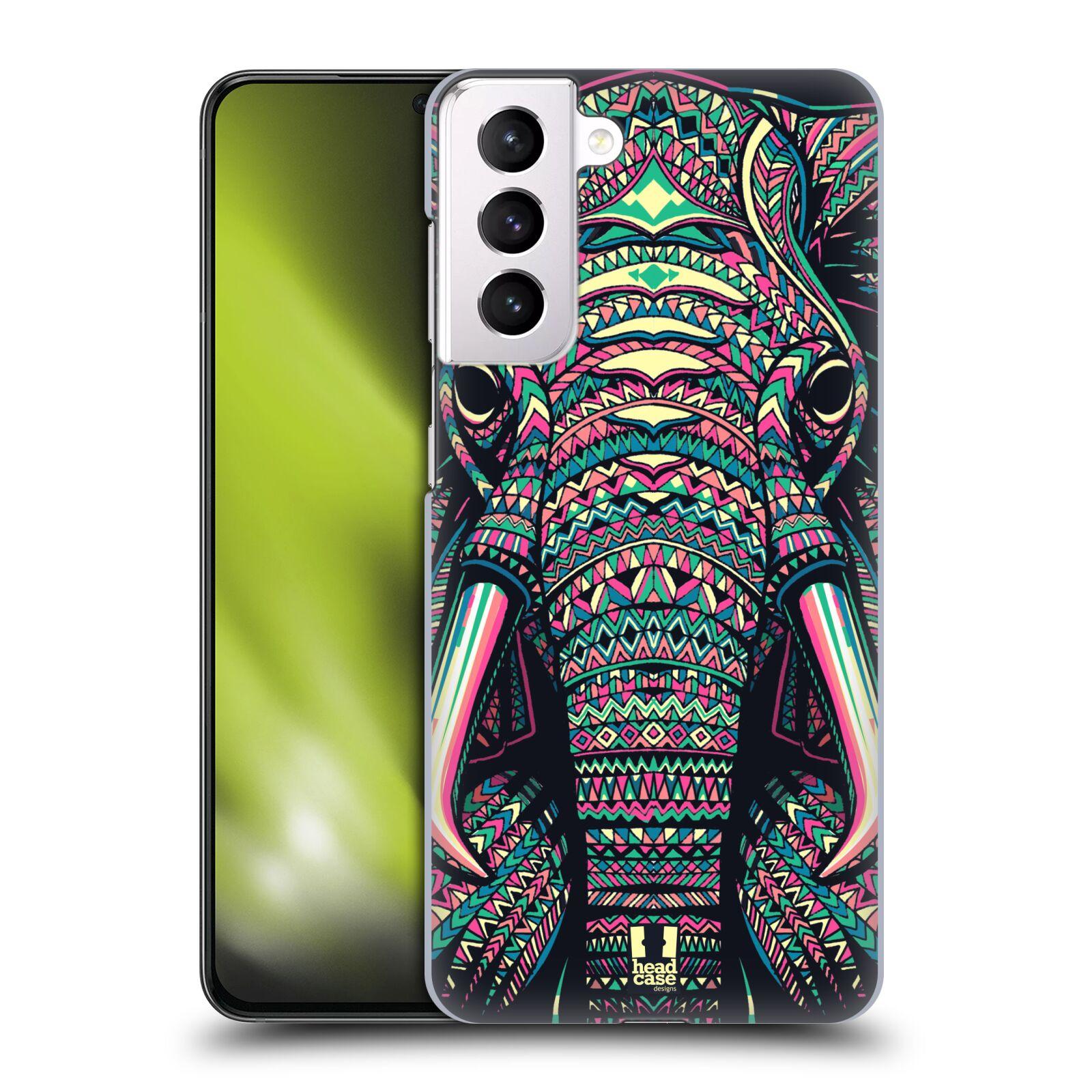 Plastové pouzdro na mobil Samsung Galaxy S21 Plus 5G - Head Case - AZTEC SLON