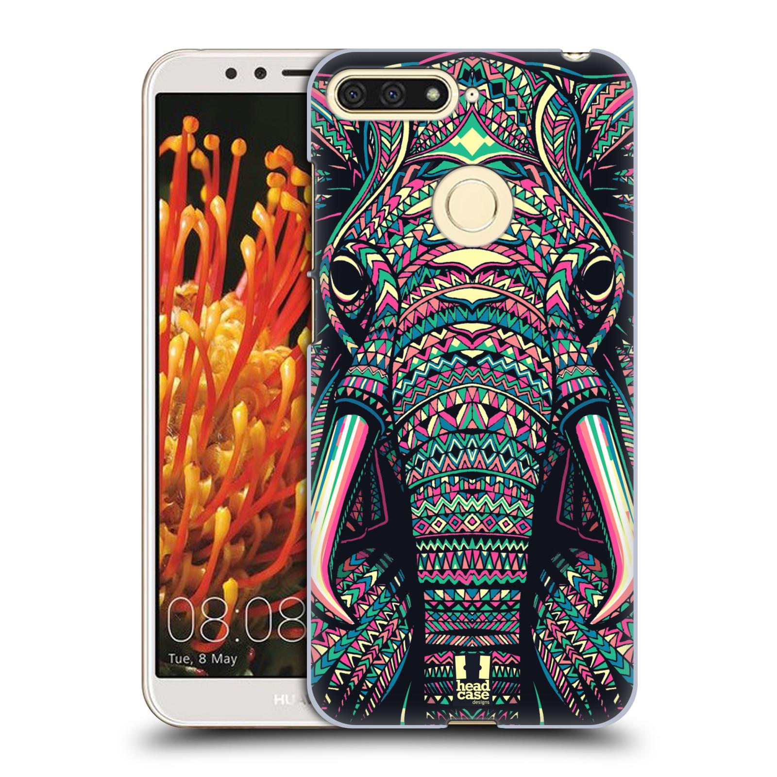 Plastové pouzdro na mobil Huawei Y6 Prime 2018 - Head Case - AZTEC SLON