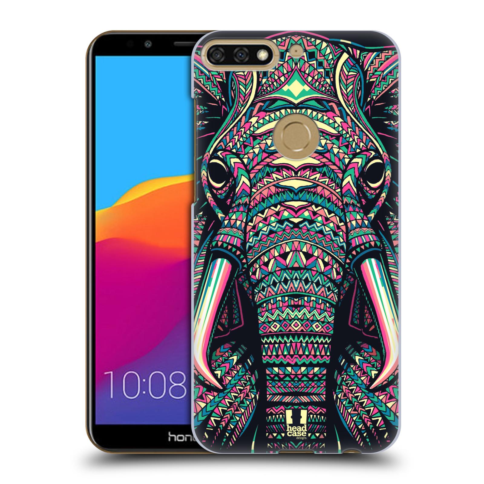 Plastové pouzdro na mobil Huawei Y7 Prime 2018 - Head Case - AZTEC SLON