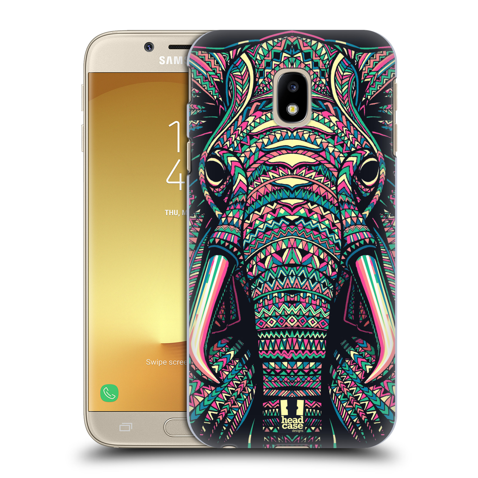 Plastové pouzdro na mobil Samsung Galaxy J3 (2017) - Head Case - AZTEC SLON