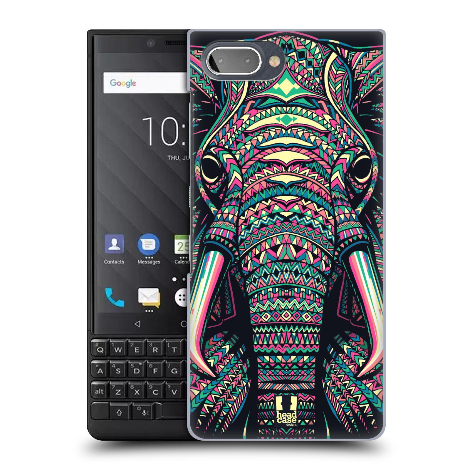 Plastové pouzdro na mobil Blackberry Key 2 - Head Case - AZTEC SLON