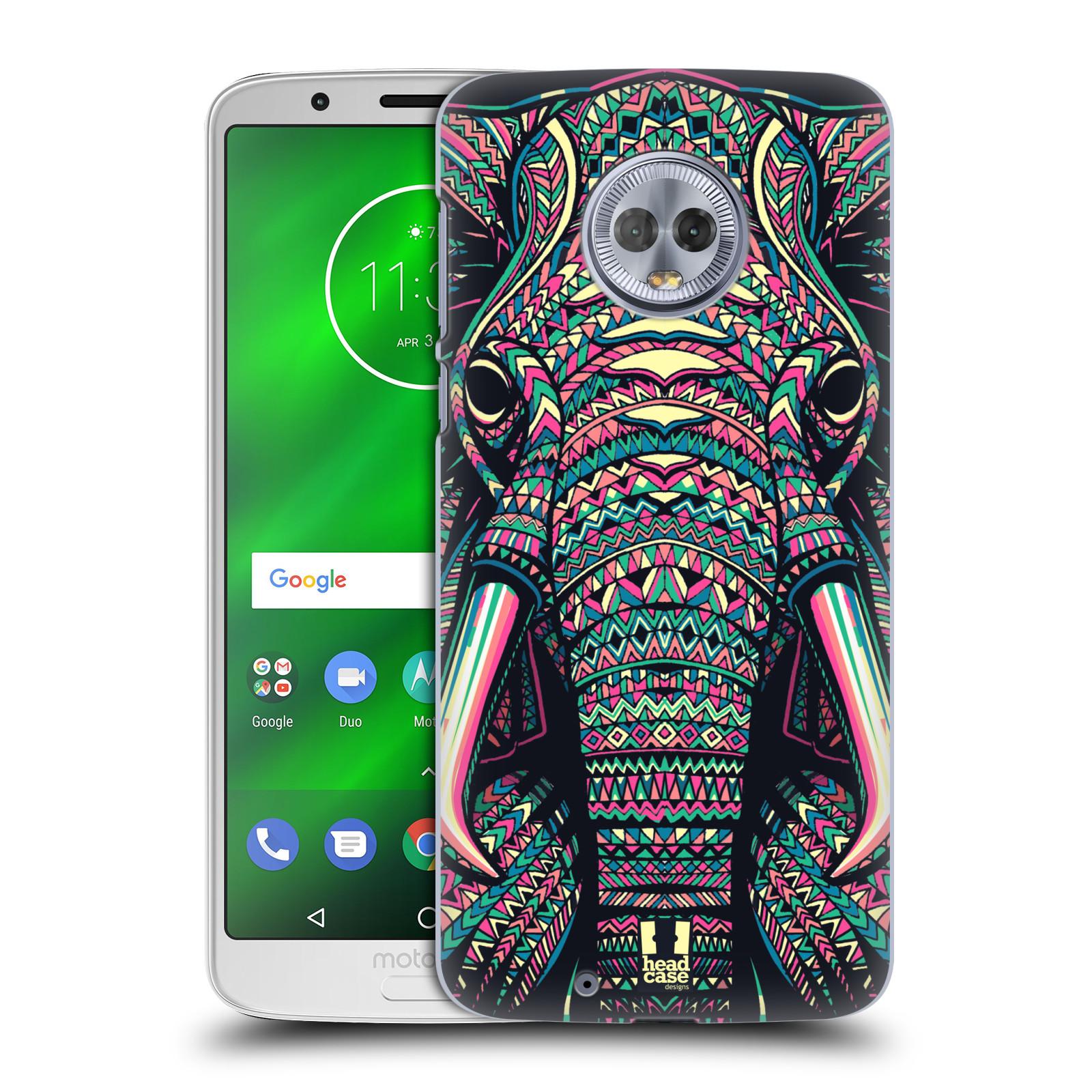 Plastové pouzdro na mobil Motorola Moto G6 - Head Case - AZTEC SLON
