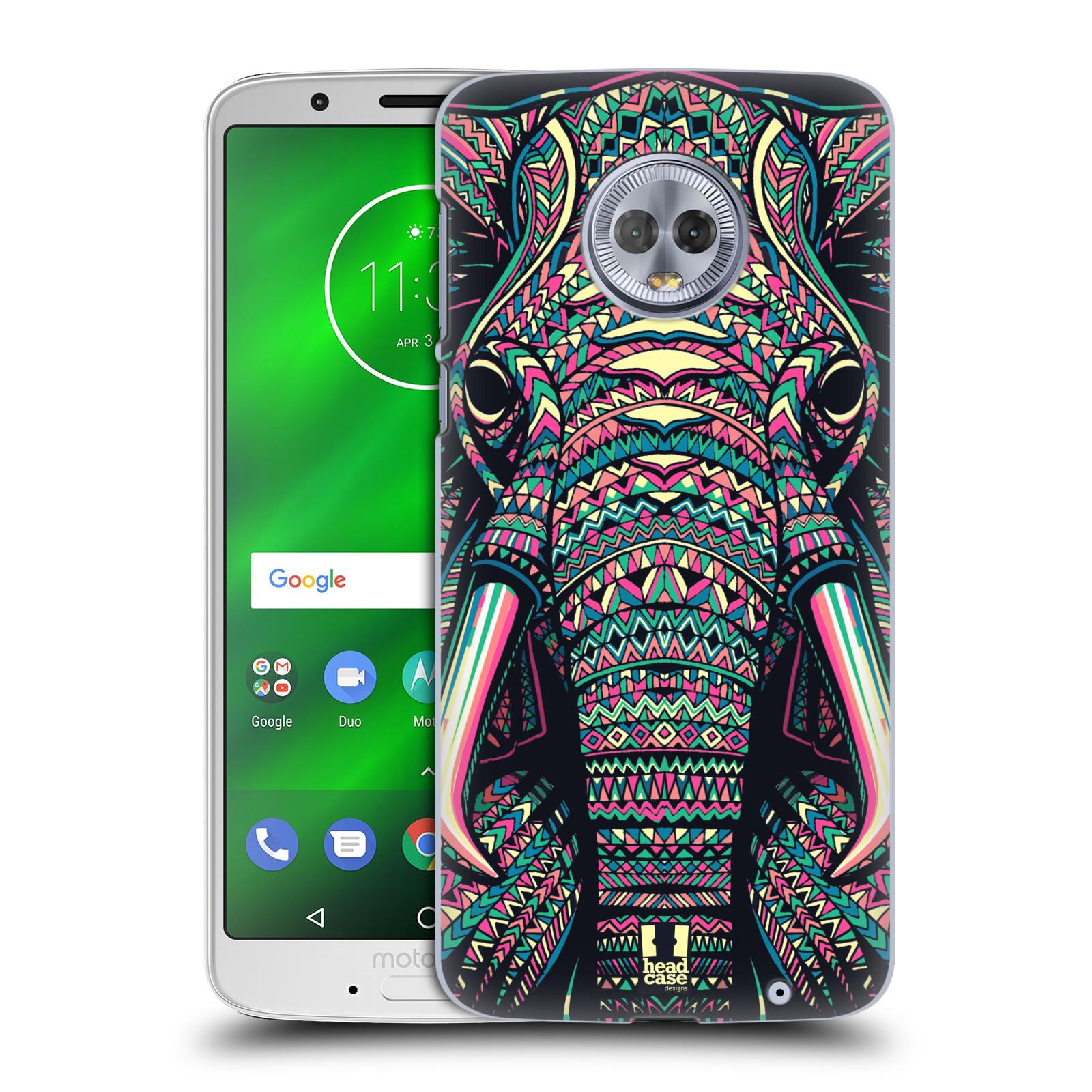 Plastové pouzdro na mobil Motorola Moto G6 Plus - Head Case - AZTEC SLON