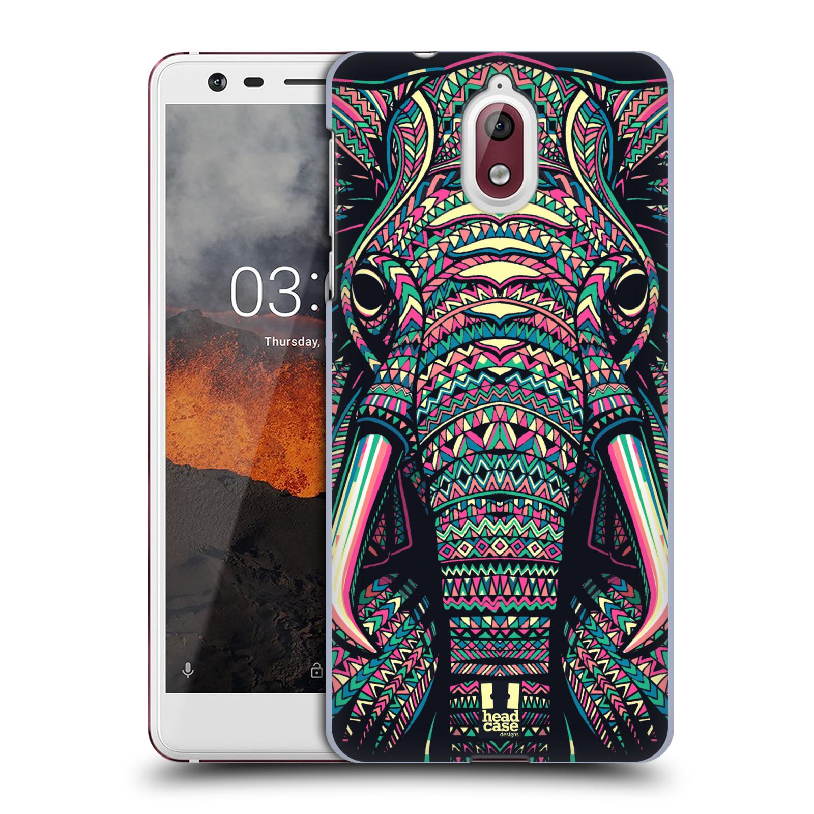 Plastové pouzdro na mobil Nokia 3.1 - Head Case - AZTEC SLON