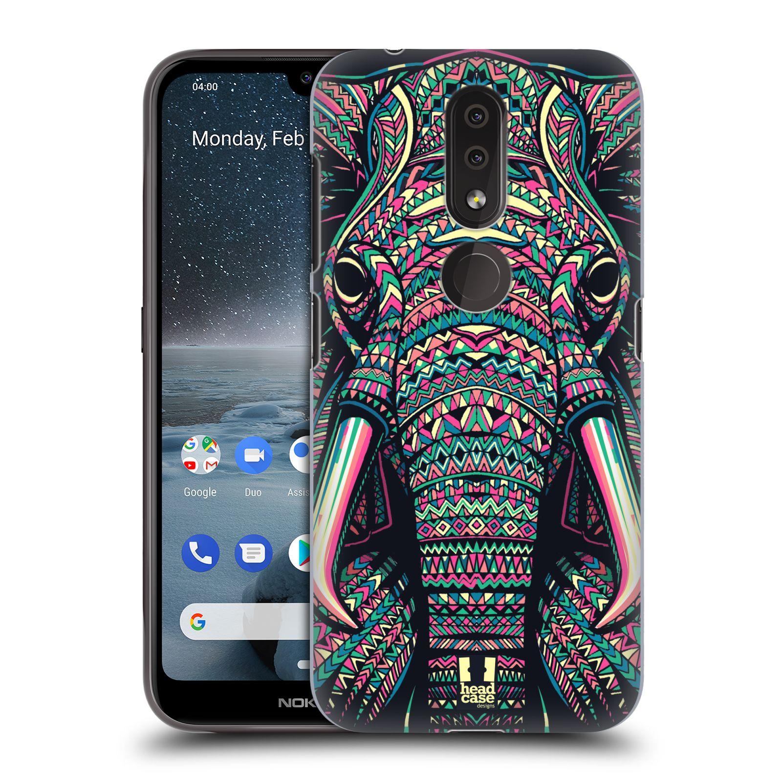 Plastové pouzdro na mobil Nokia 4.2 - Head Case - AZTEC SLON