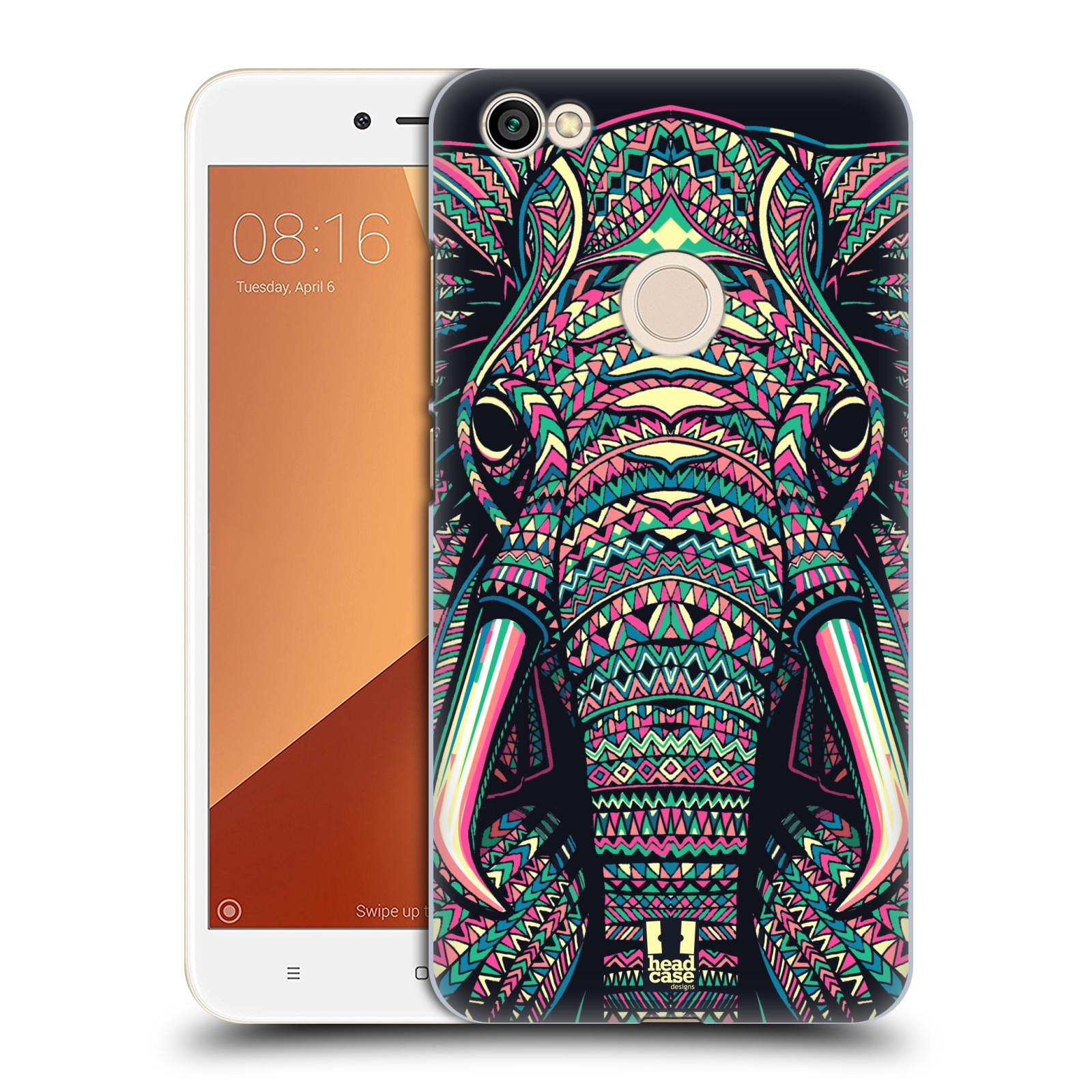 Plastové pouzdro na mobil Xiaomi Redmi Note 5A Prime - Head Case - AZTEC SLON