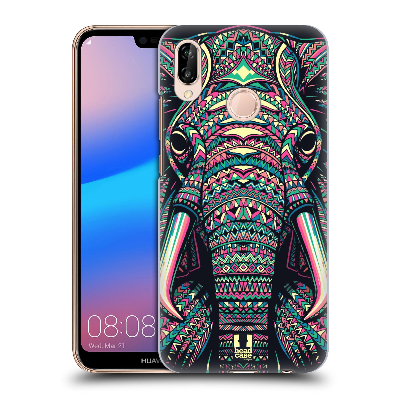 Plastové pouzdro na mobil Huawei P20 Lite - Head Case - AZTEC SLON
