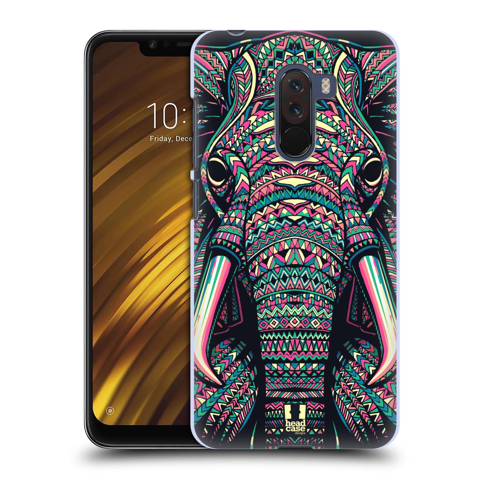 Plastové pouzdro na mobil Xiaomi Pocophone F1 - Head Case - AZTEC SLON