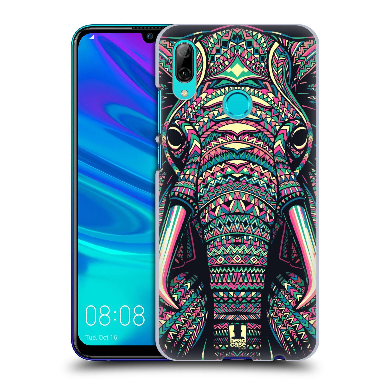 Plastové pouzdro na mobil Huawei P Smart (2019) - Head Case - AZTEC SLON