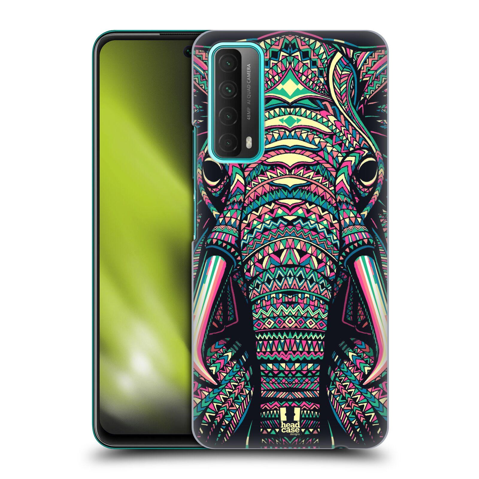 Plastové pouzdro na mobil Huawei P Smart (2021) - Head Case - AZTEC SLON