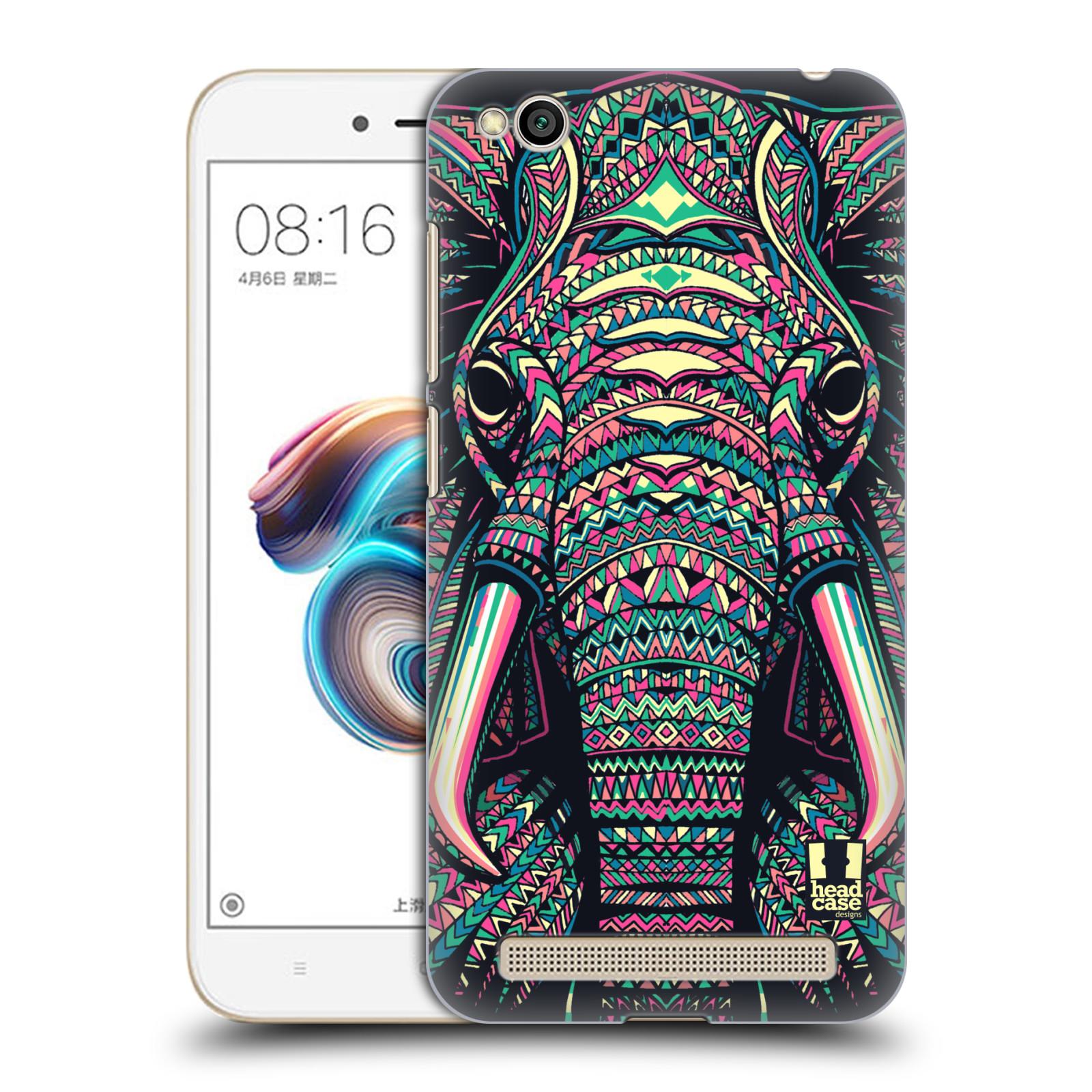 Plastové pouzdro na mobil Xiaomi Redmi 5A - Head Case - AZTEC SLON