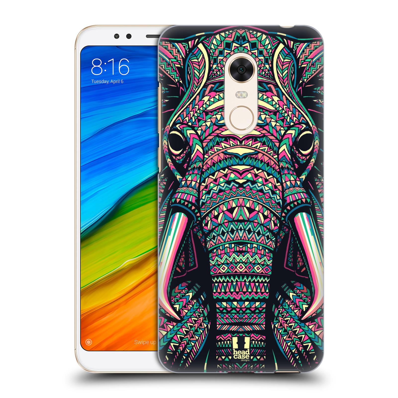 Plastové pouzdro na mobil Xiaomi Redmi 5 Plus - Head Case - AZTEC SLON
