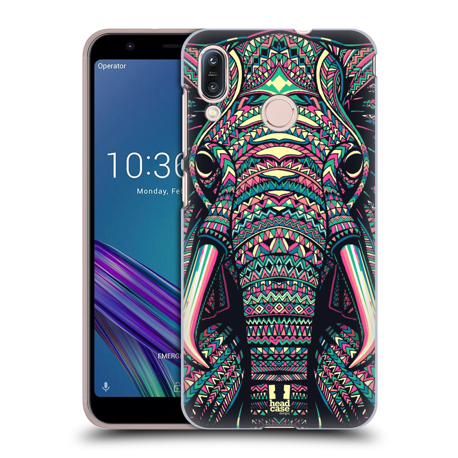 Plastové pouzdro na mobil Asus Zenfone Max M1 ZB555KL - Head Case - AZTEC SLON