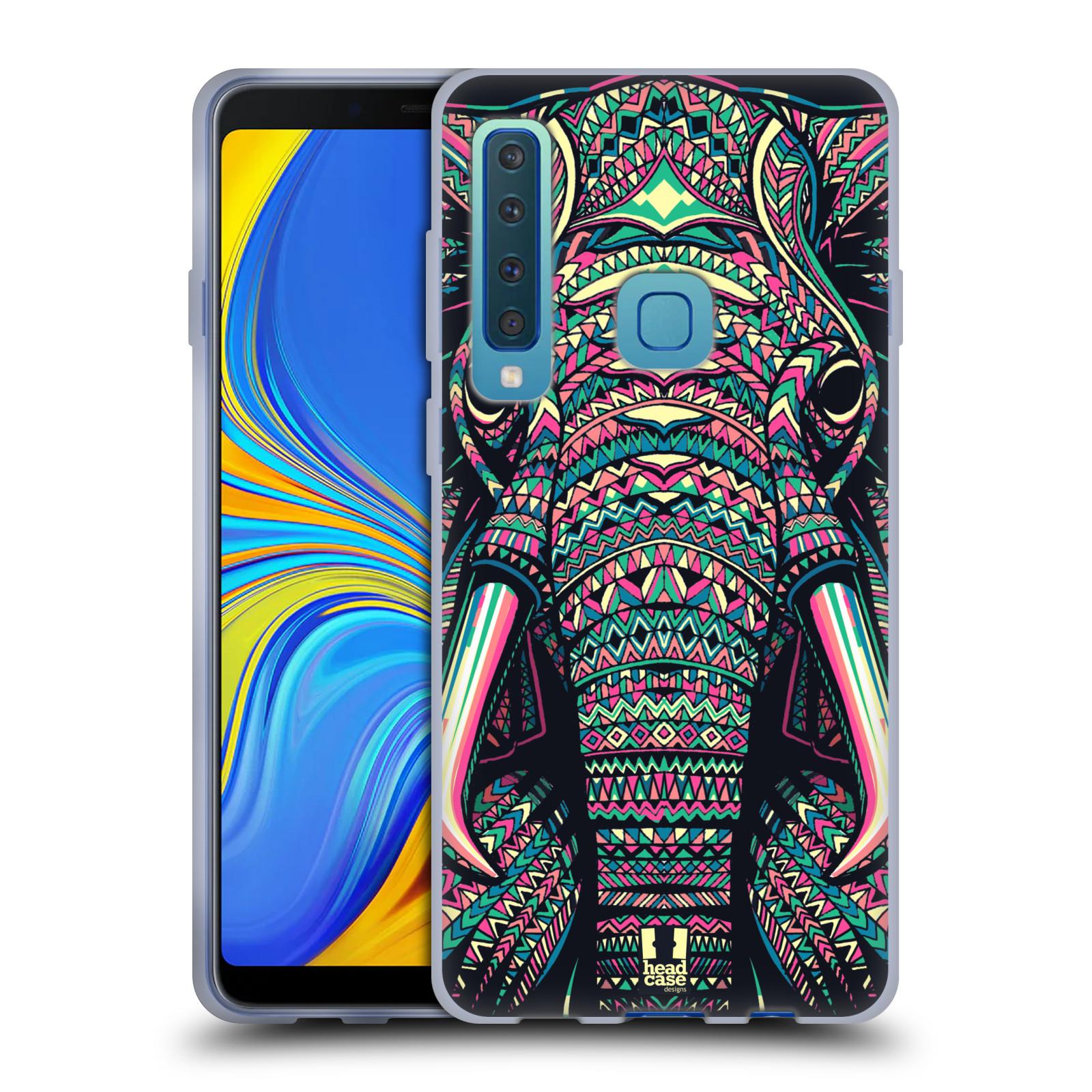 Silikonové pouzdro na mobil Samsung Galaxy A9 (2018) - Head Case - AZTEC SLON