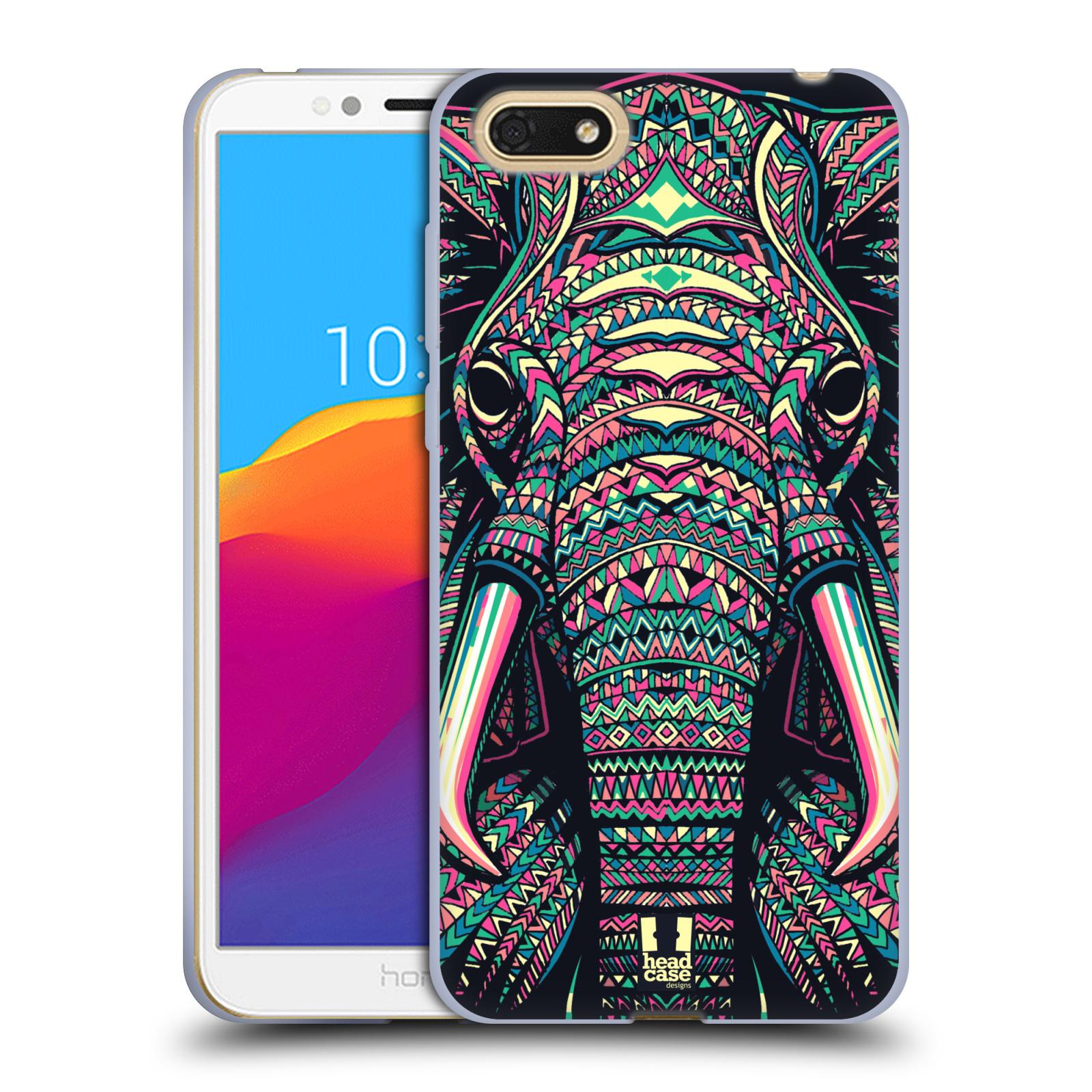 Silikonové pouzdro na mobil Huawei Y5 2018 - Head Case - AZTEC SLON
