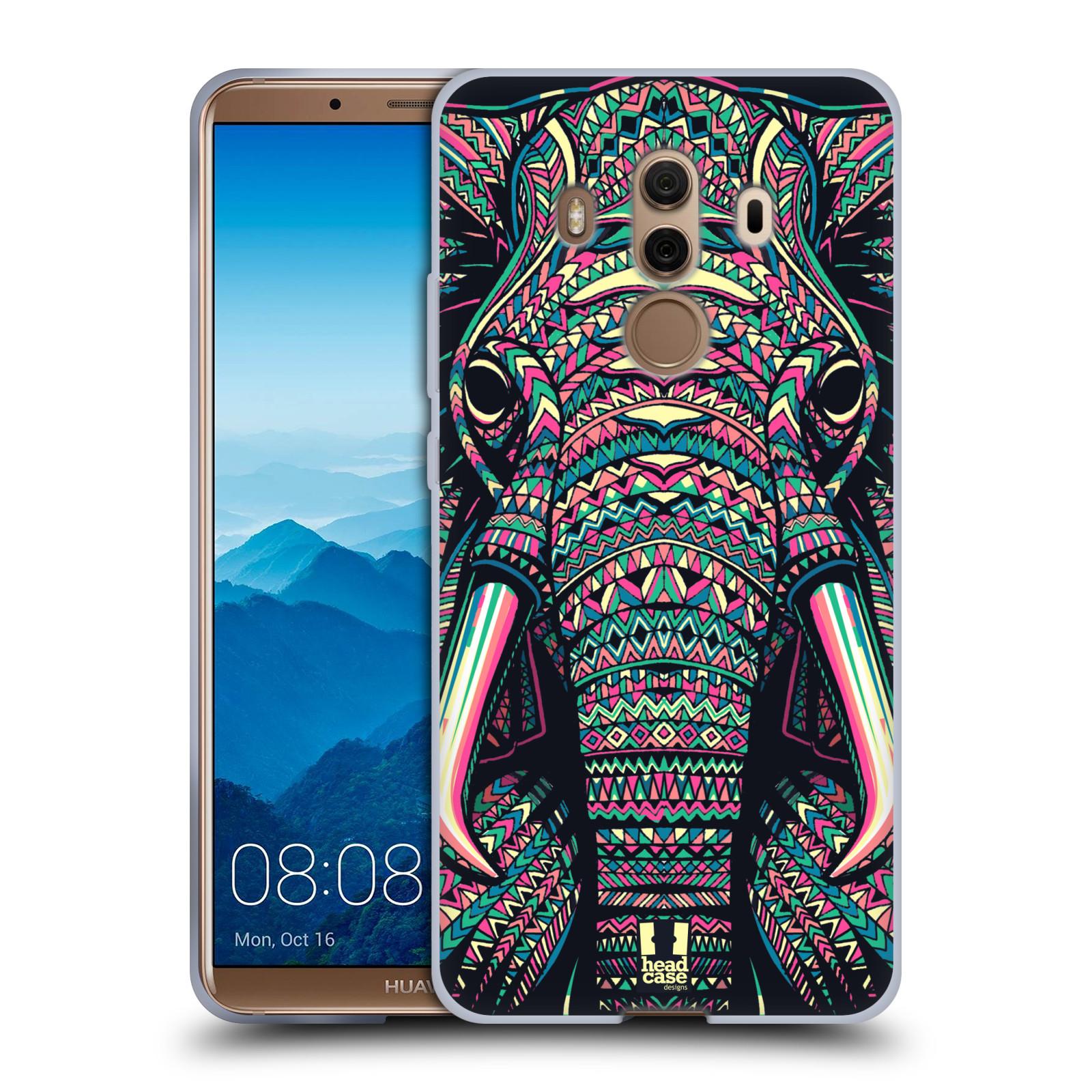 Silikonové pouzdro na mobil Huawei Mate 10 Pro - Head Case - AZTEC SLON