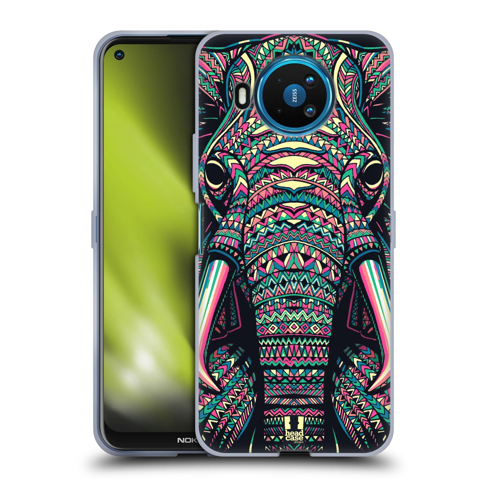 Silikonové pouzdro na mobil Nokia 8.3 5G - Head Case - AZTEC SLON