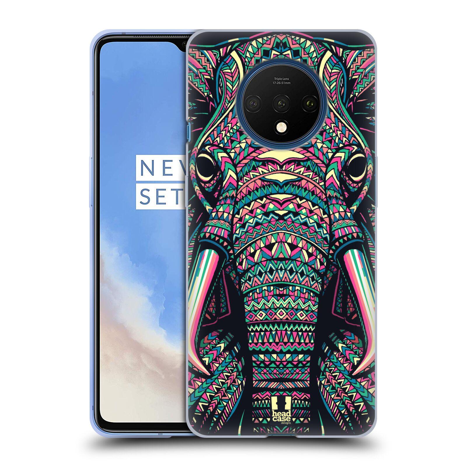 Silikonové pouzdro na mobil OnePlus 7T - Head Case - AZTEC SLON
