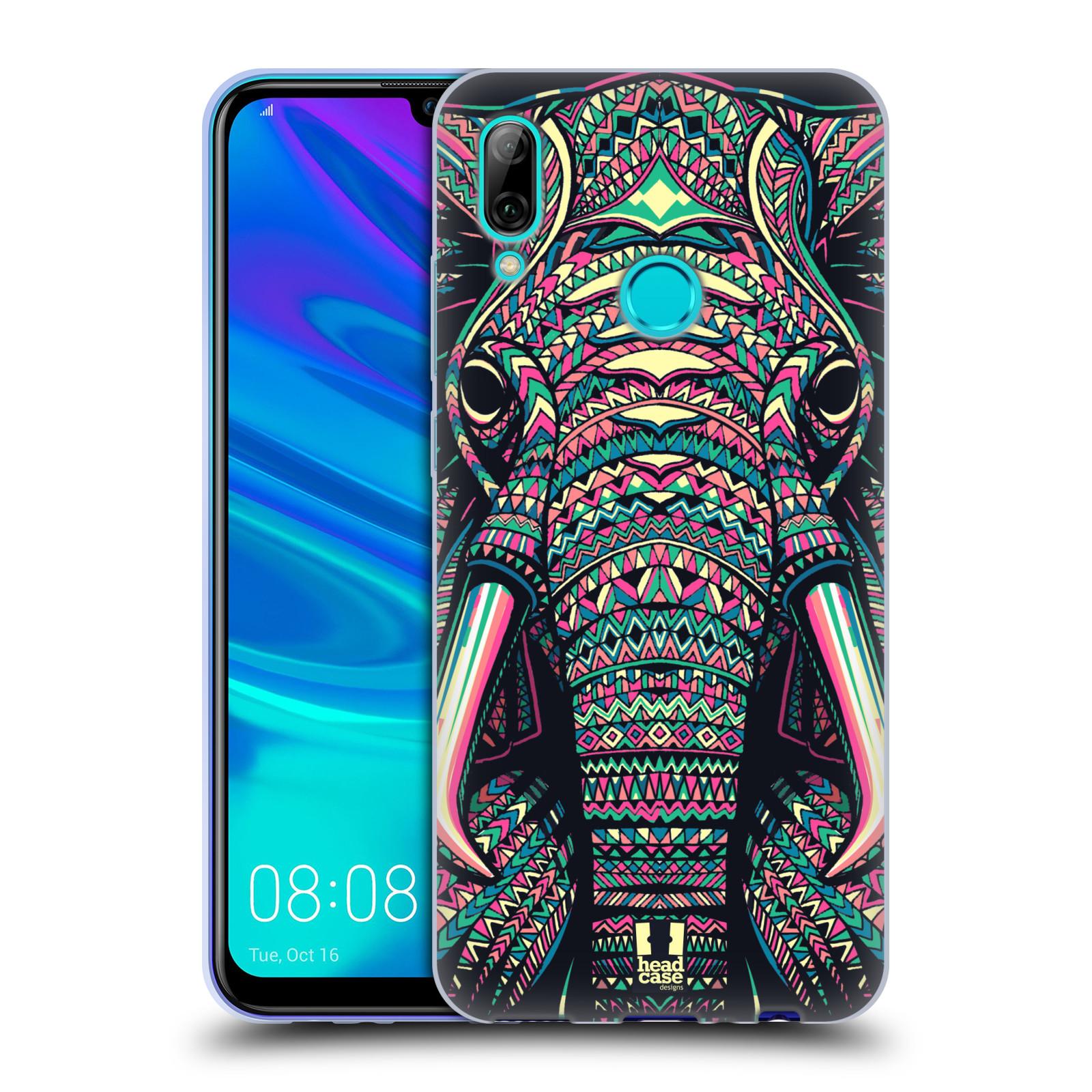 Silikonové pouzdro na mobil Huawei P Smart (2019) - Head Case - AZTEC SLON