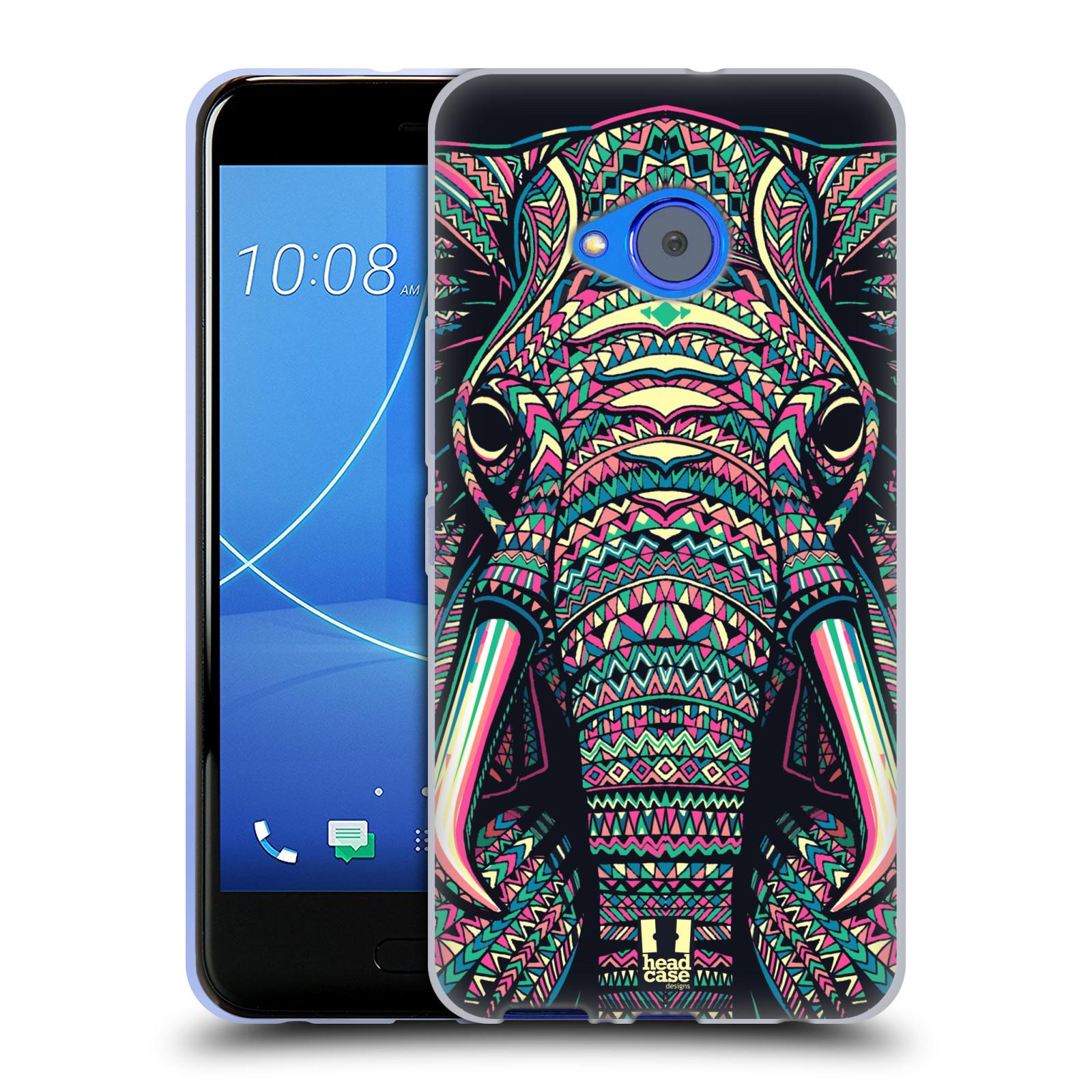 Silikonové pouzdro na mobil HTC U11 Life - Head Case - AZTEC SLON