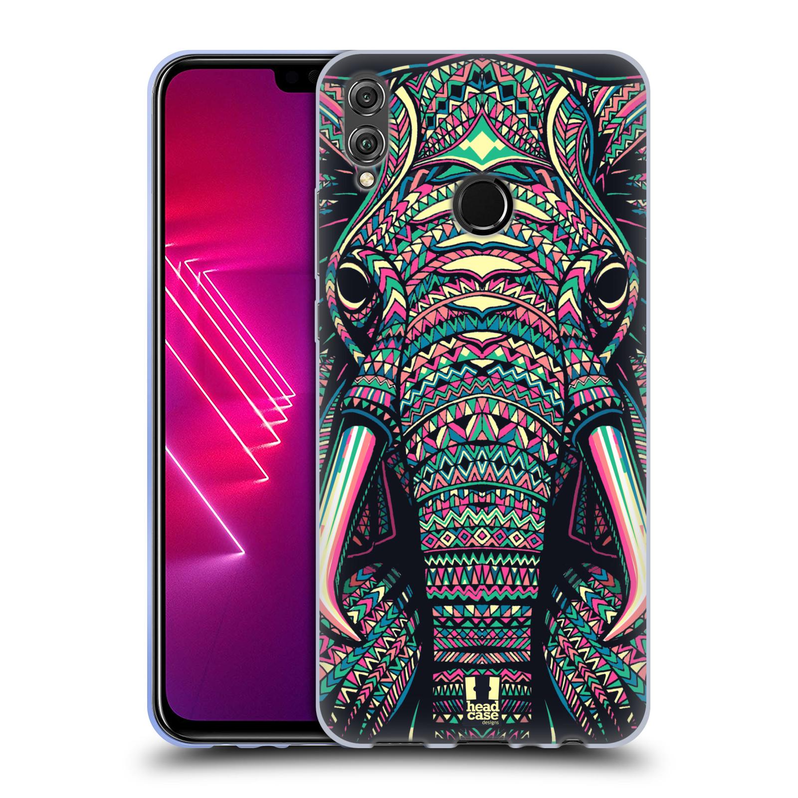 Silikonové pouzdro na mobil Honor View 10 Lite - Head Case - AZTEC SLON