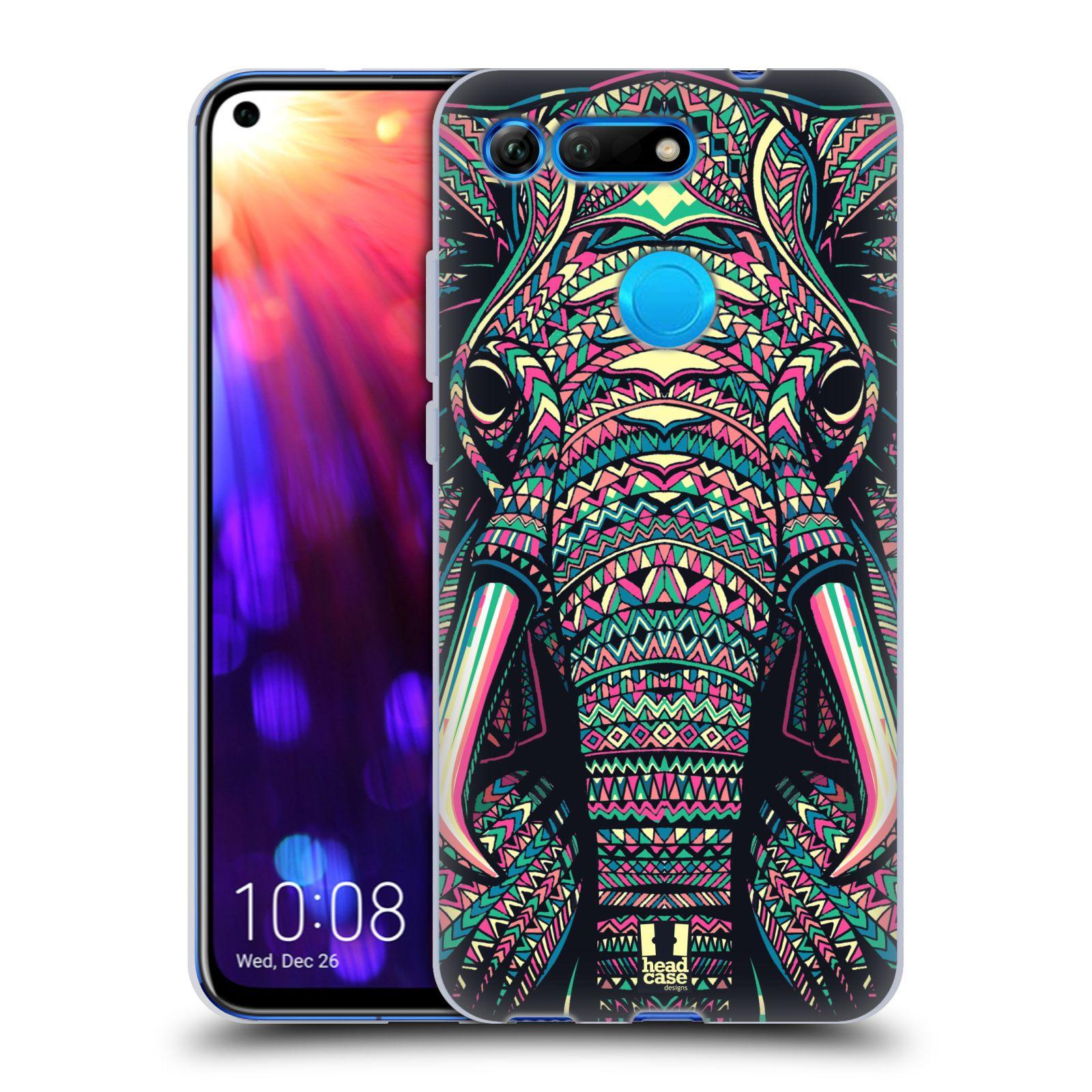 Silikonové pouzdro na mobil Honor View 20 - Head Case - AZTEC SLON