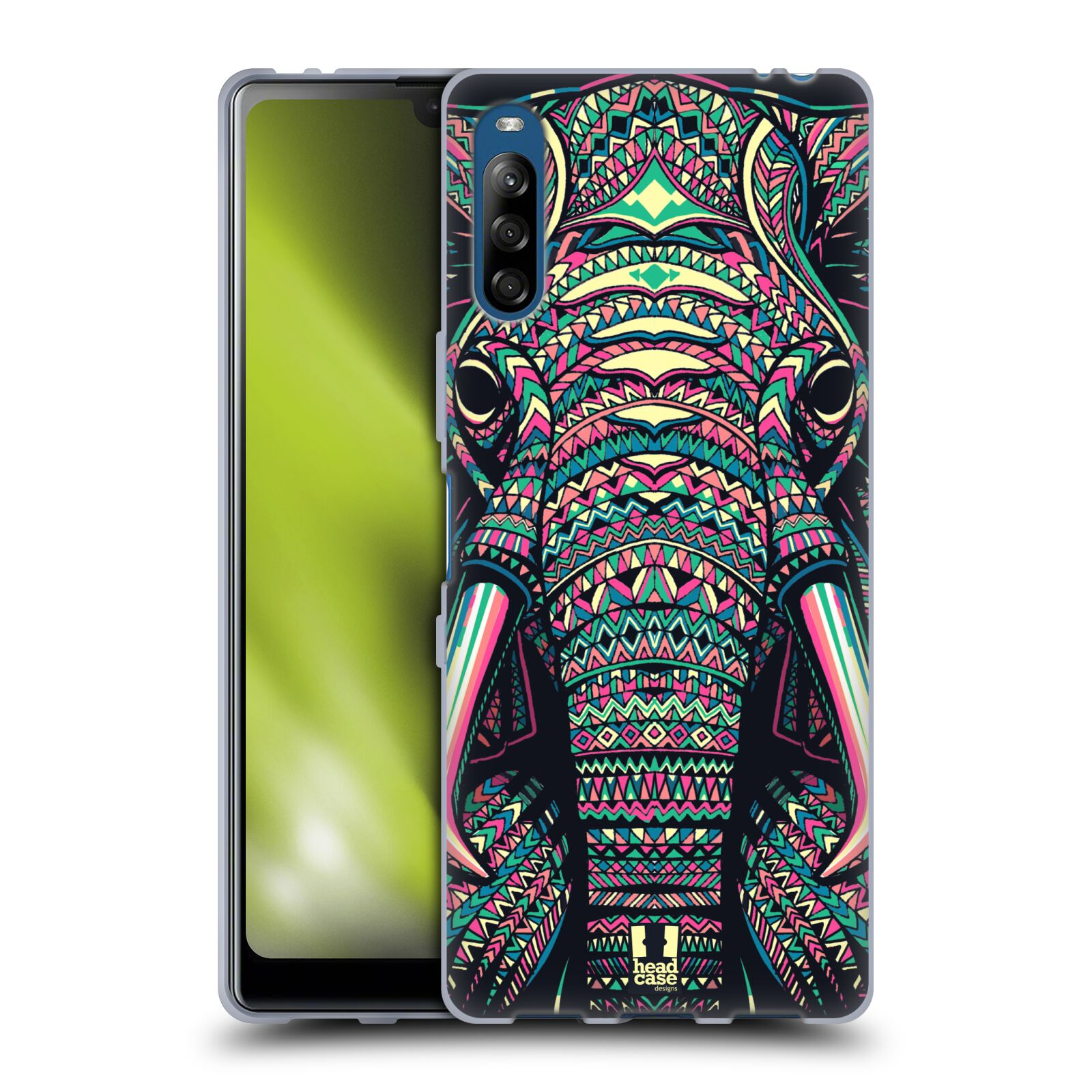 Silikonové pouzdro na mobil Sony Xperia L4 - Head Case - AZTEC SLON