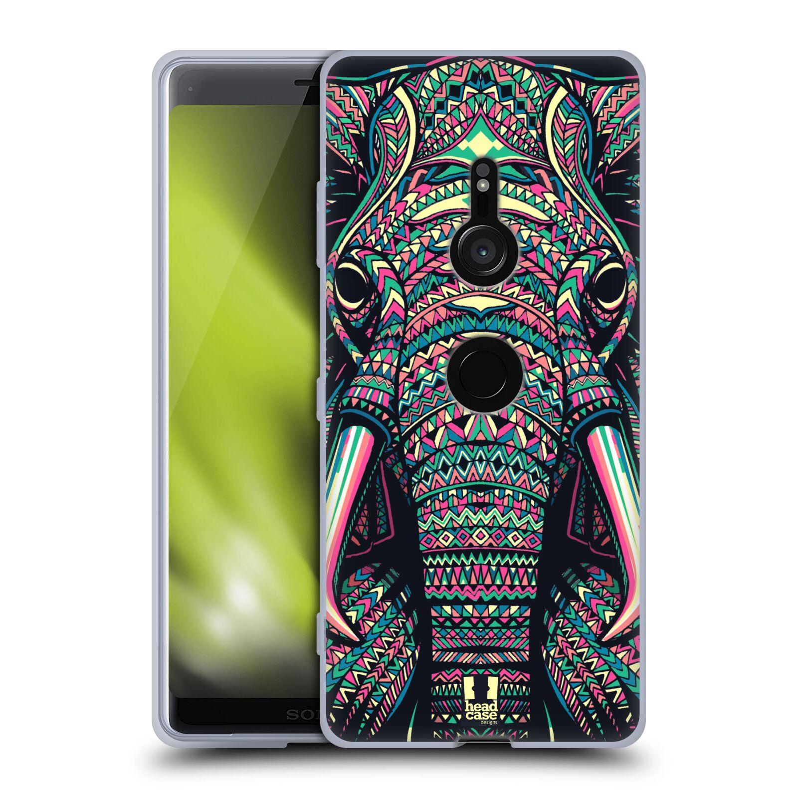 Silikonové pouzdro na mobil Sony Xperia XZ3 - Head Case - AZTEC SLON