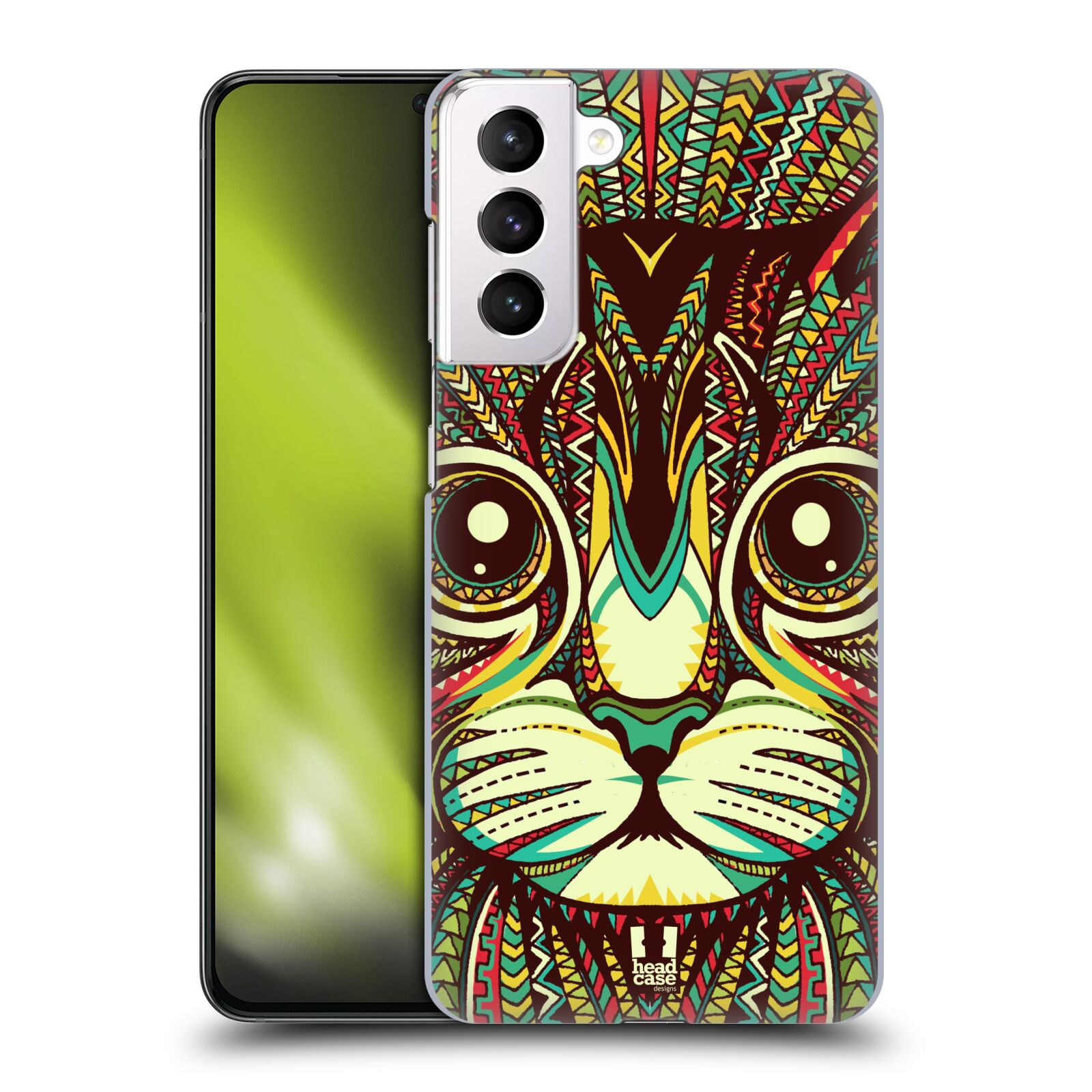 Plastové pouzdro na mobil Samsung Galaxy S21 Plus 5G - Head Case - AZTEC KOČKA