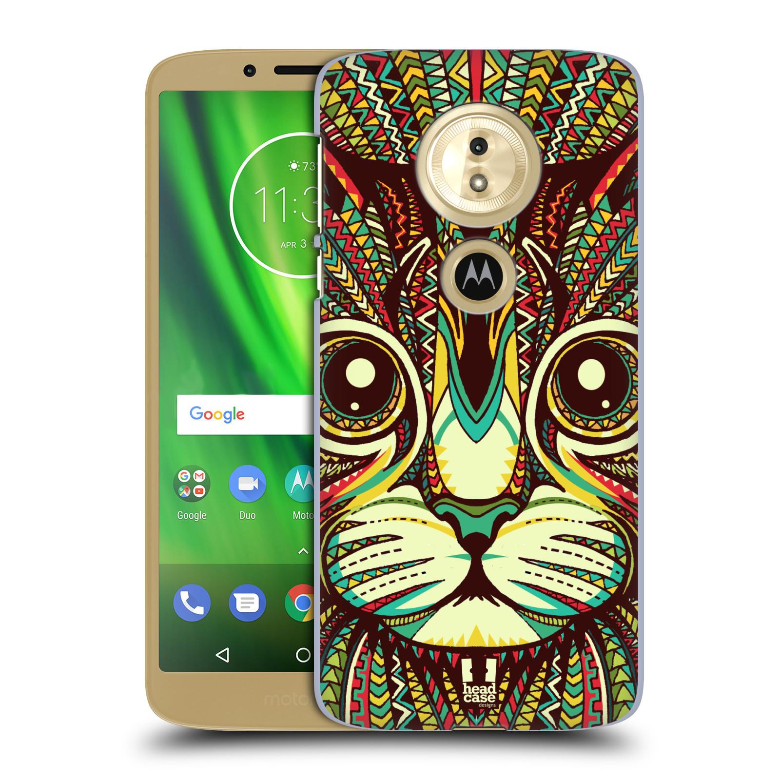 Plastové pouzdro na mobil Motorola Moto G6 Play - Head Case - AZTEC KOČKA