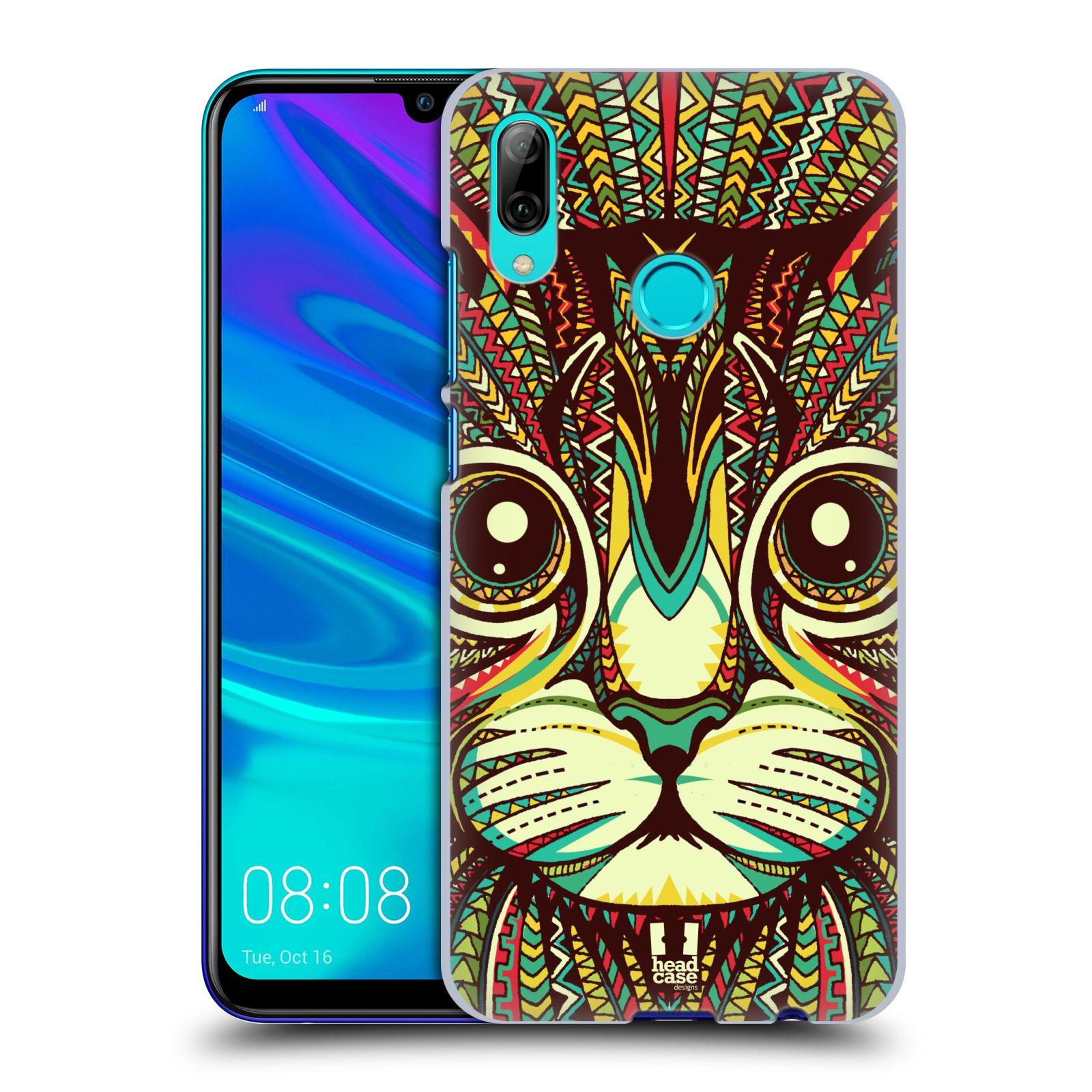 Plastové pouzdro na mobil Huawei P Smart (2019) - Head Case - AZTEC KOČKA