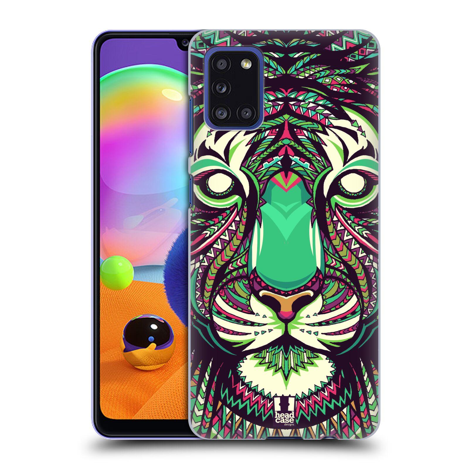 Plastové pouzdro na mobil Samsung Galaxy A31 - Head Case - AZTEC TYGR