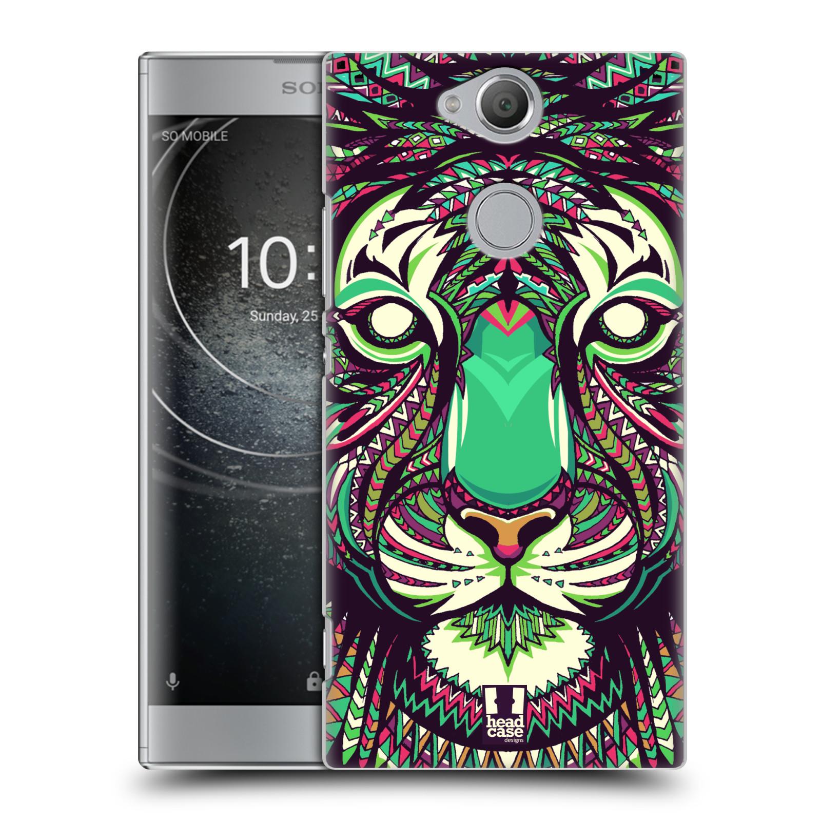 Plastové pouzdro na mobil Sony Xperia XA2 - Head Case - AZTEC TYGR