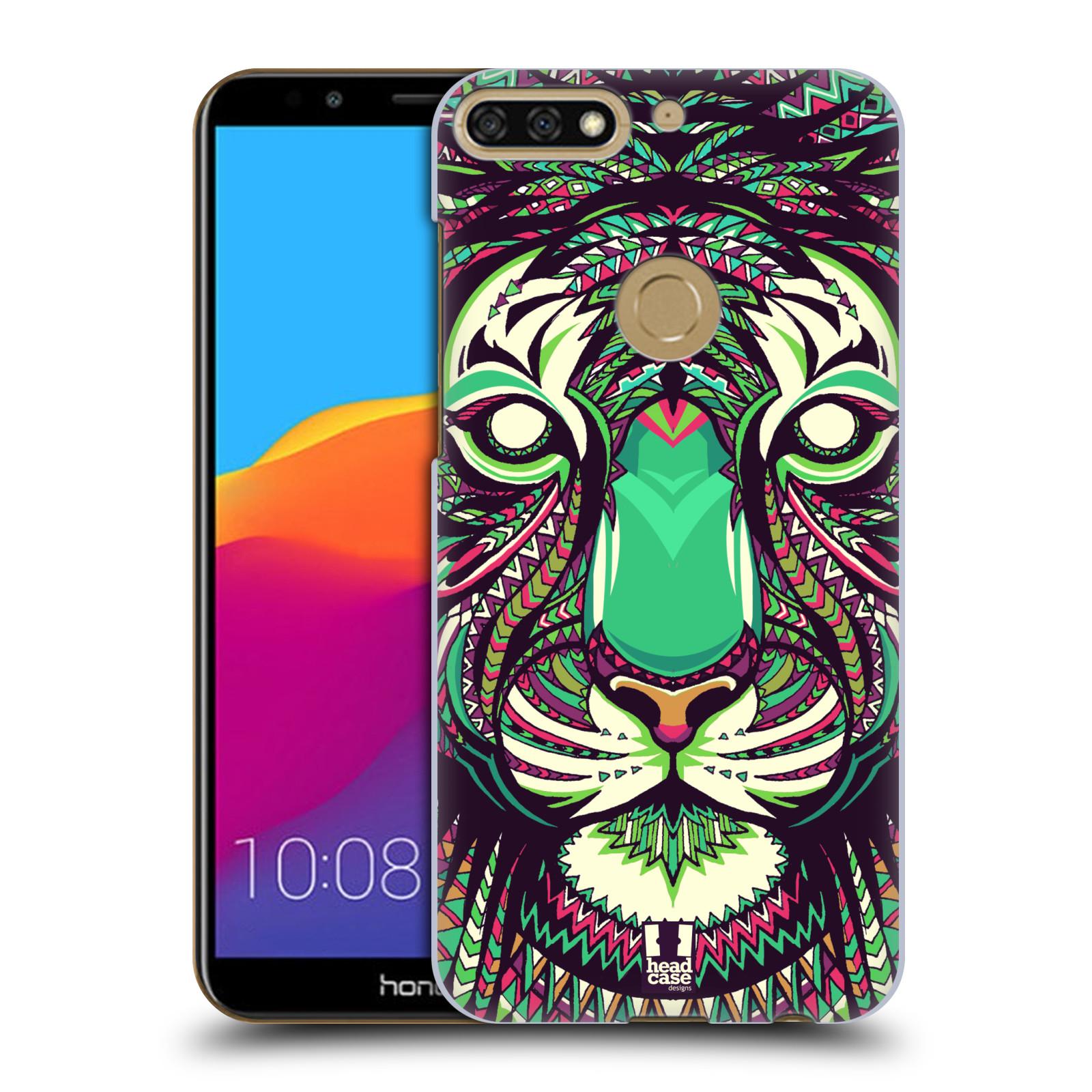 Plastové pouzdro na mobil Huawei Y7 Prime 2018 - Head Case - AZTEC TYGR