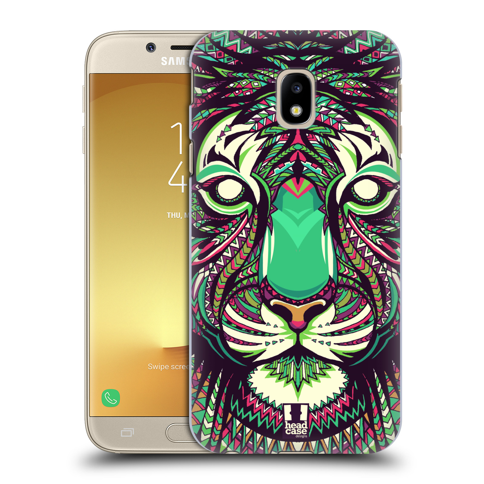Plastové pouzdro na mobil Samsung Galaxy J3 (2017) - Head Case - AZTEC TYGR