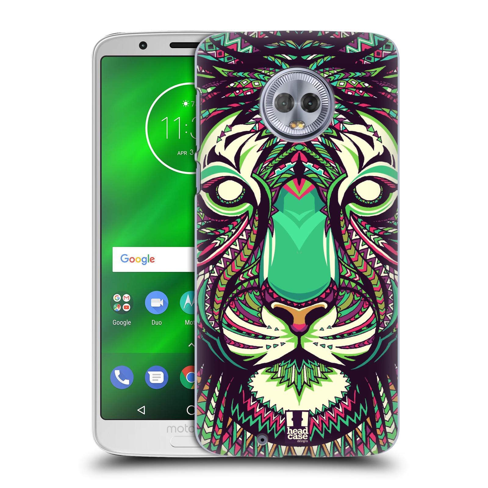 Plastové pouzdro na mobil Motorola Moto G6 - Head Case - AZTEC TYGR