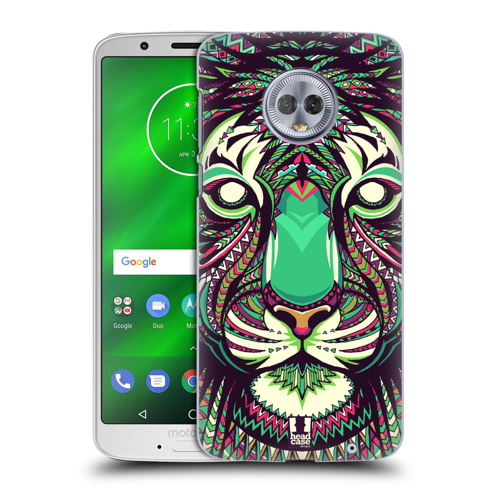 Plastové pouzdro na mobil Motorola Moto G6 Plus - Head Case - AZTEC TYGR