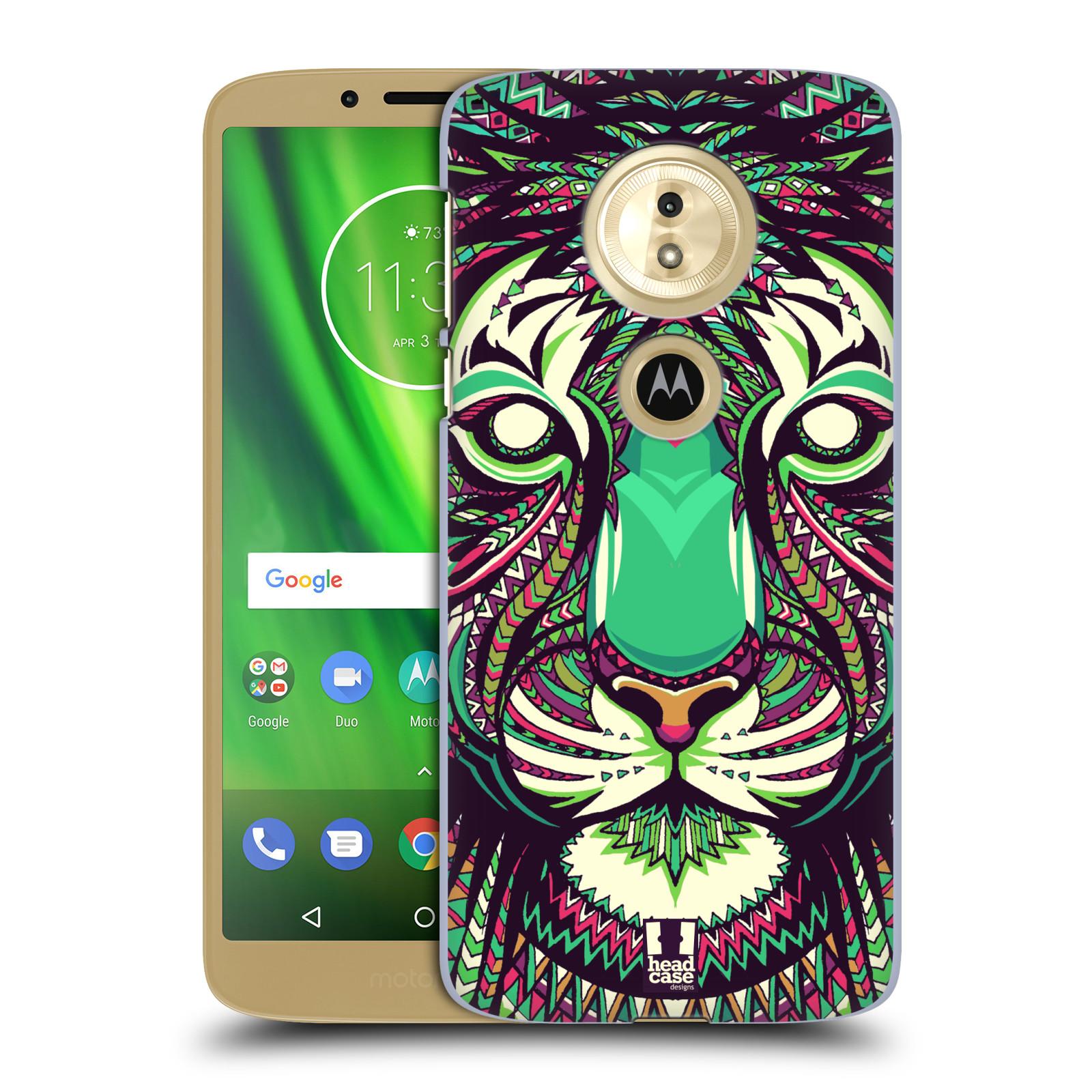 Plastové pouzdro na mobil Motorola Moto G6 Play - Head Case - AZTEC TYGR
