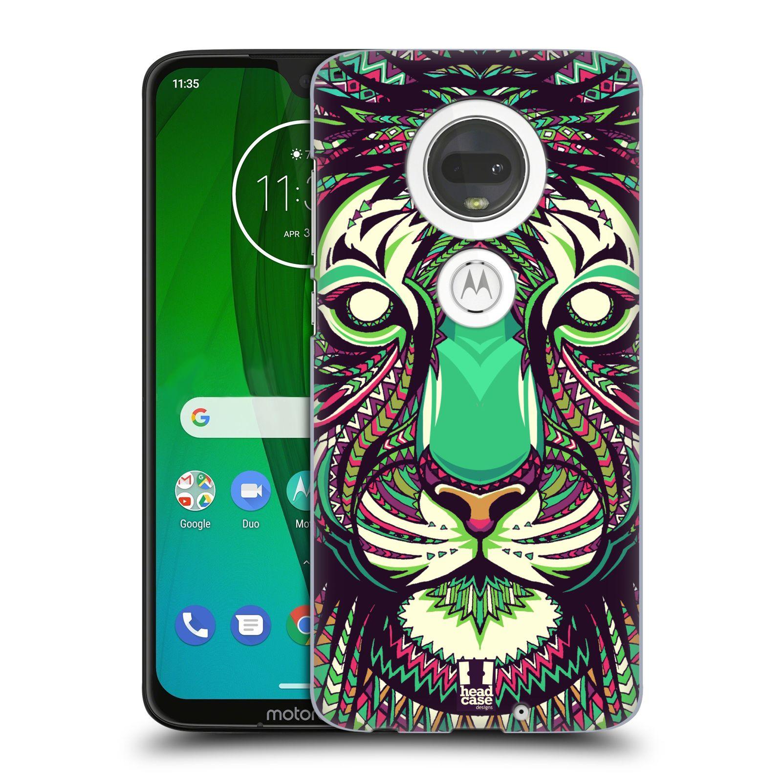 Plastové pouzdro na mobil Motorola Moto G7 - Head Case - AZTEC TYGR