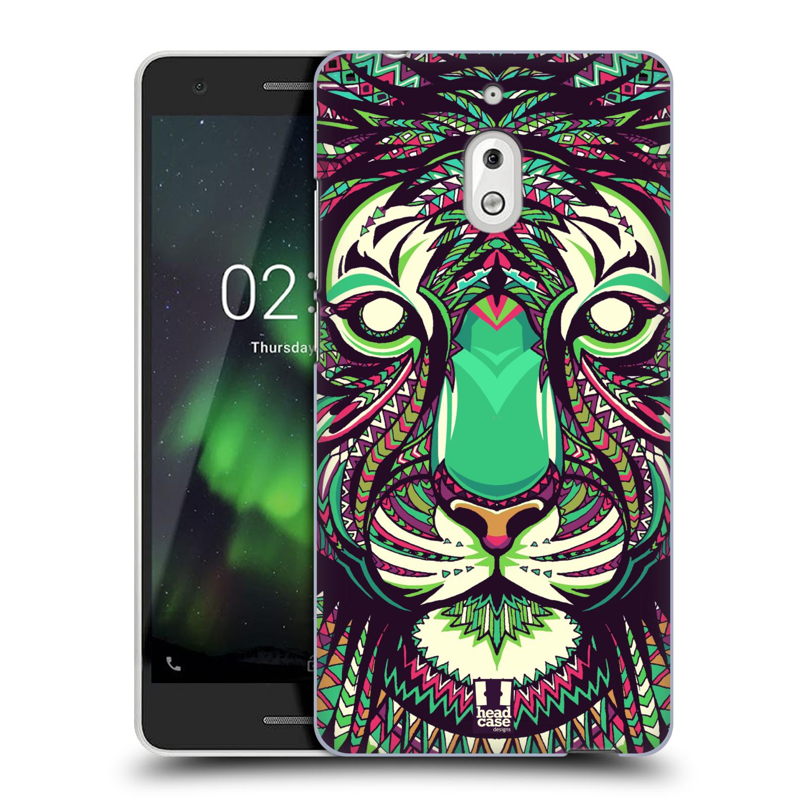 Plastové pouzdro na mobil Nokia 2.1 - Head Case - AZTEC TYGR