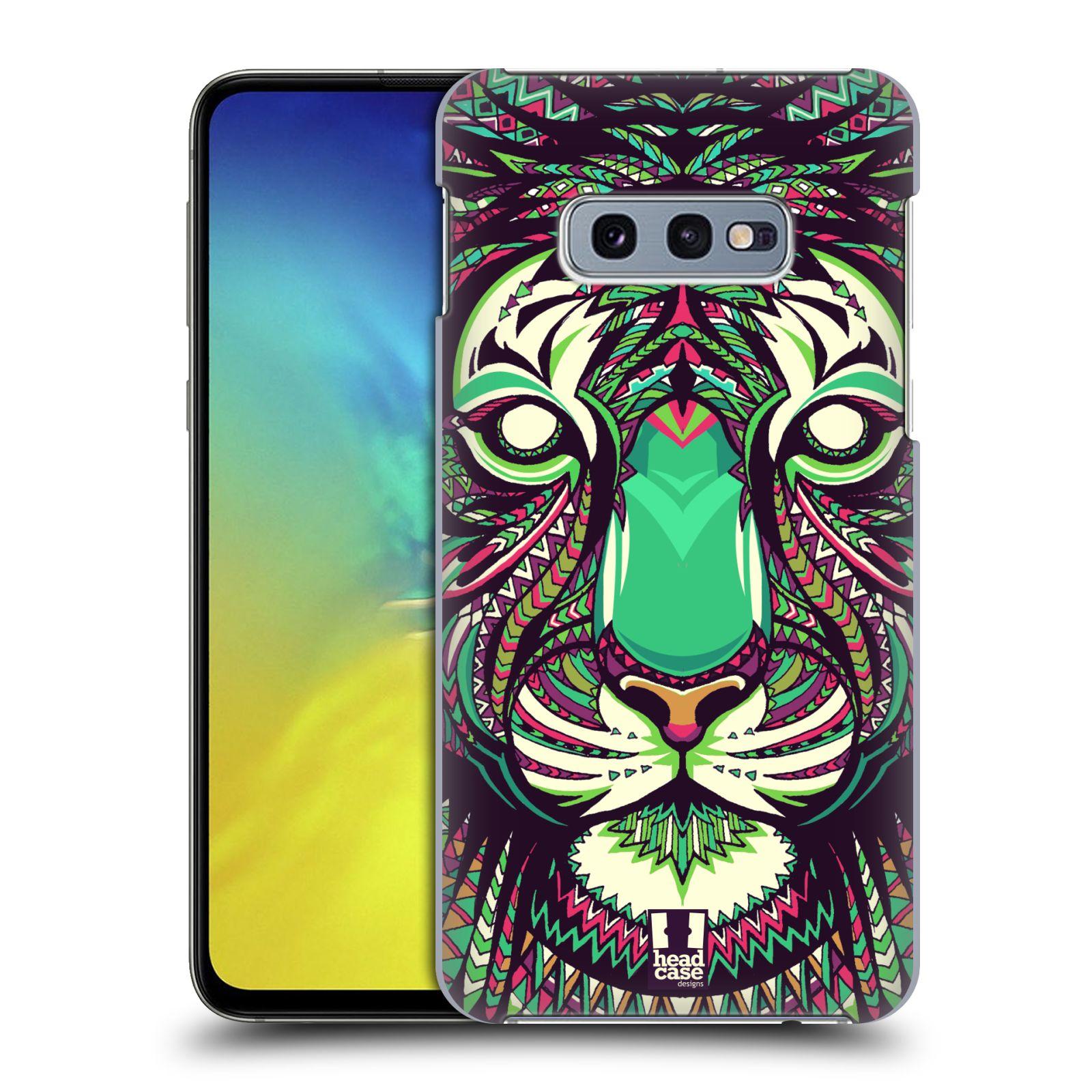 Plastové pouzdro na mobil Samsung Galaxy S10e - Head Case - AZTEC TYGR