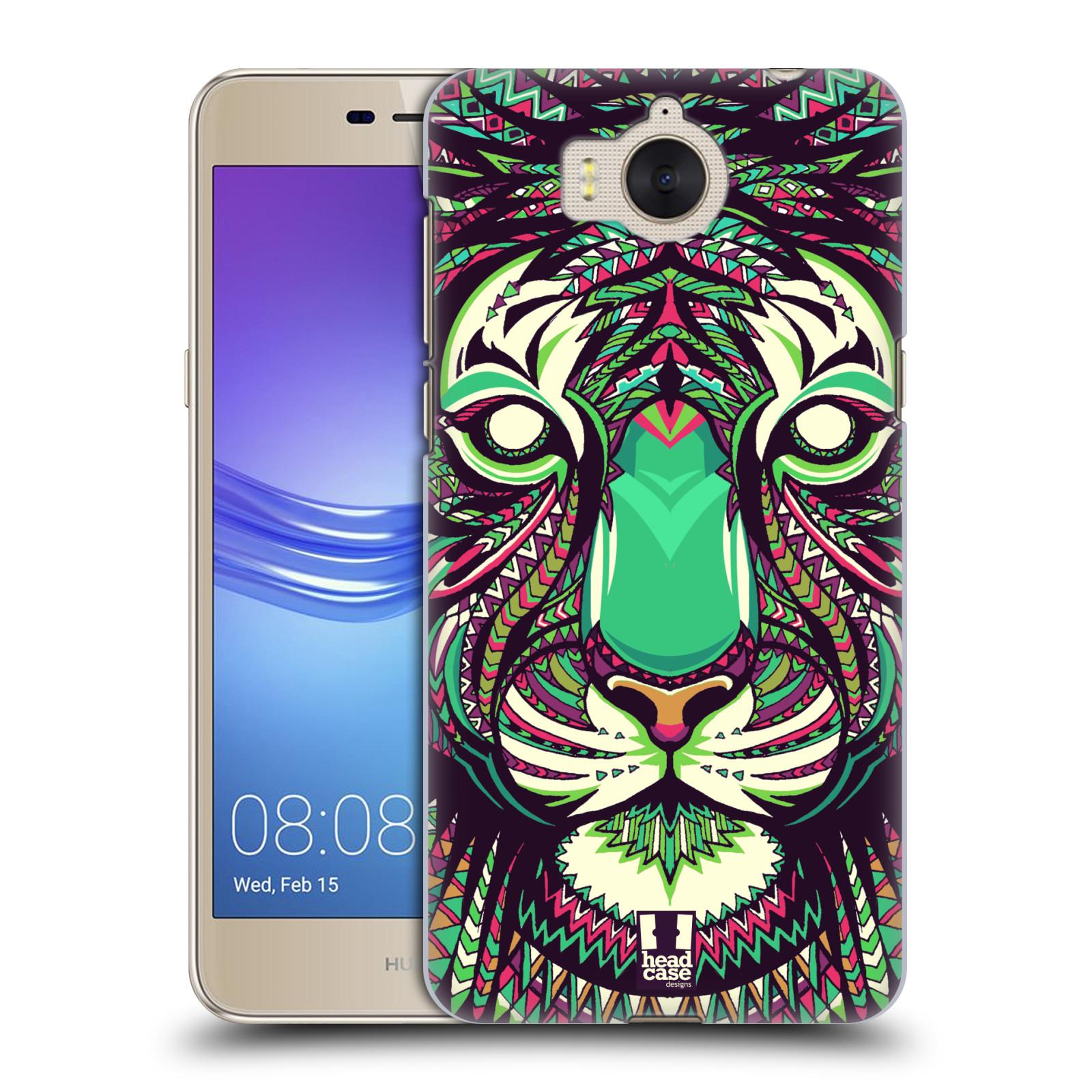 Plastové pouzdro na mobil Huawei Y6 2017 - Head Case - AZTEC TYGR