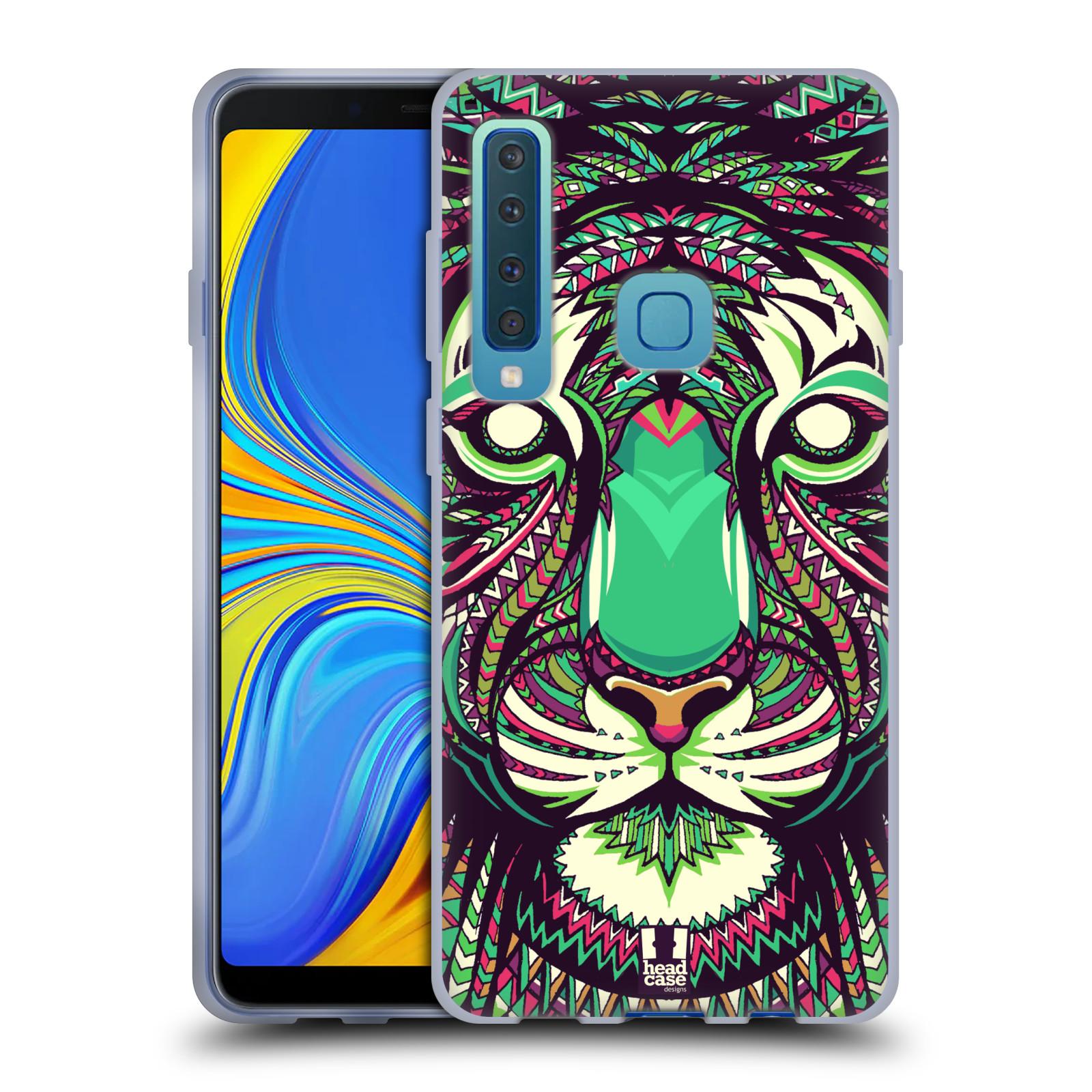 Silikonové pouzdro na mobil Samsung Galaxy A9 (2018) - Head Case - AZTEC TYGR