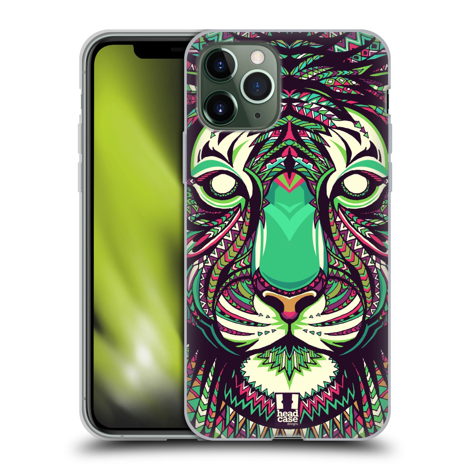 gucci iphone x case release date , Silikonové pouzdro na mobil Apple iPhone 11 Pro - Head Case - AZTEC TYGR