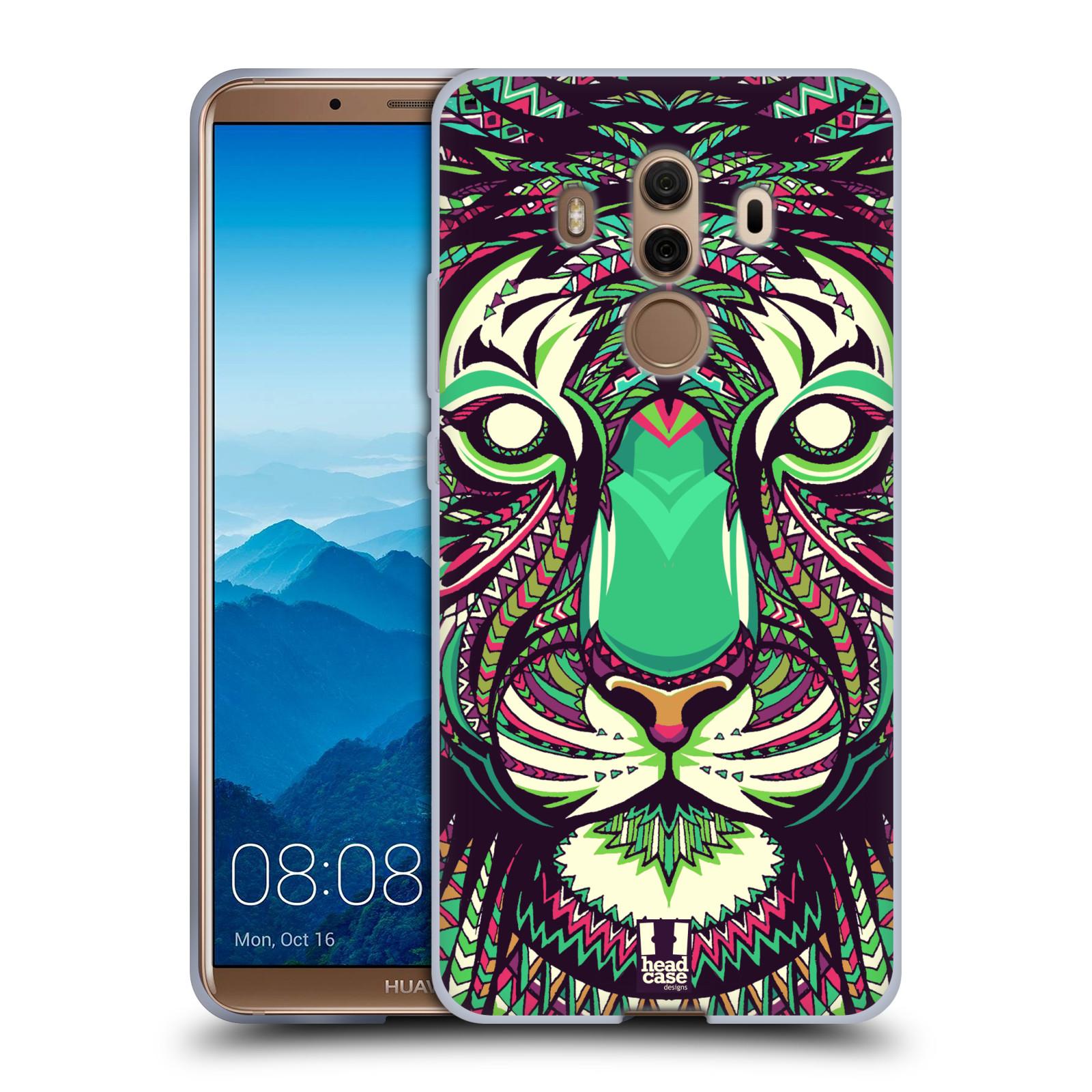 Silikonové pouzdro na mobil Huawei Mate 10 Pro - Head Case - AZTEC TYGR